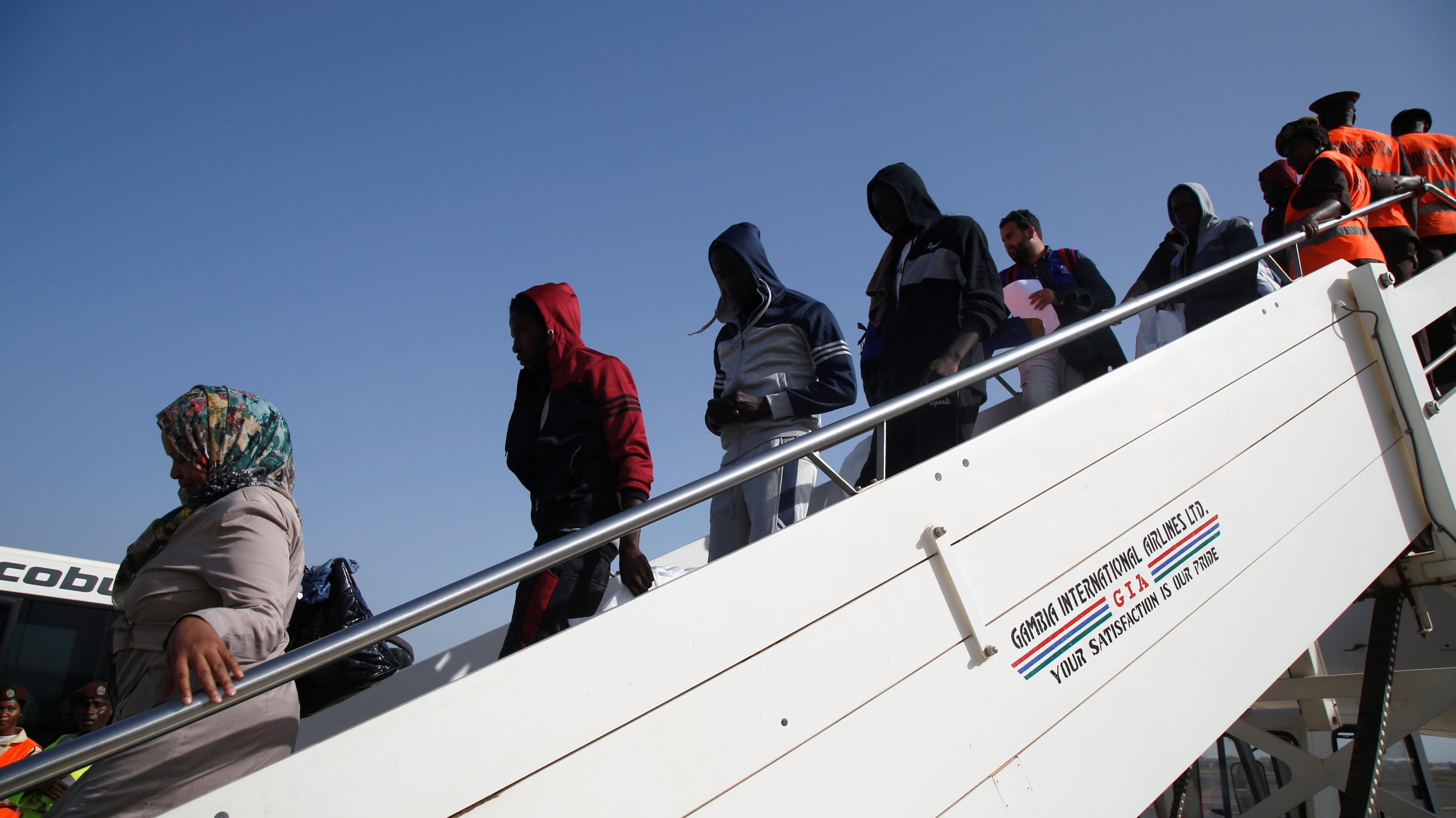 Returning migrants from Europe cause problems for The Gambia