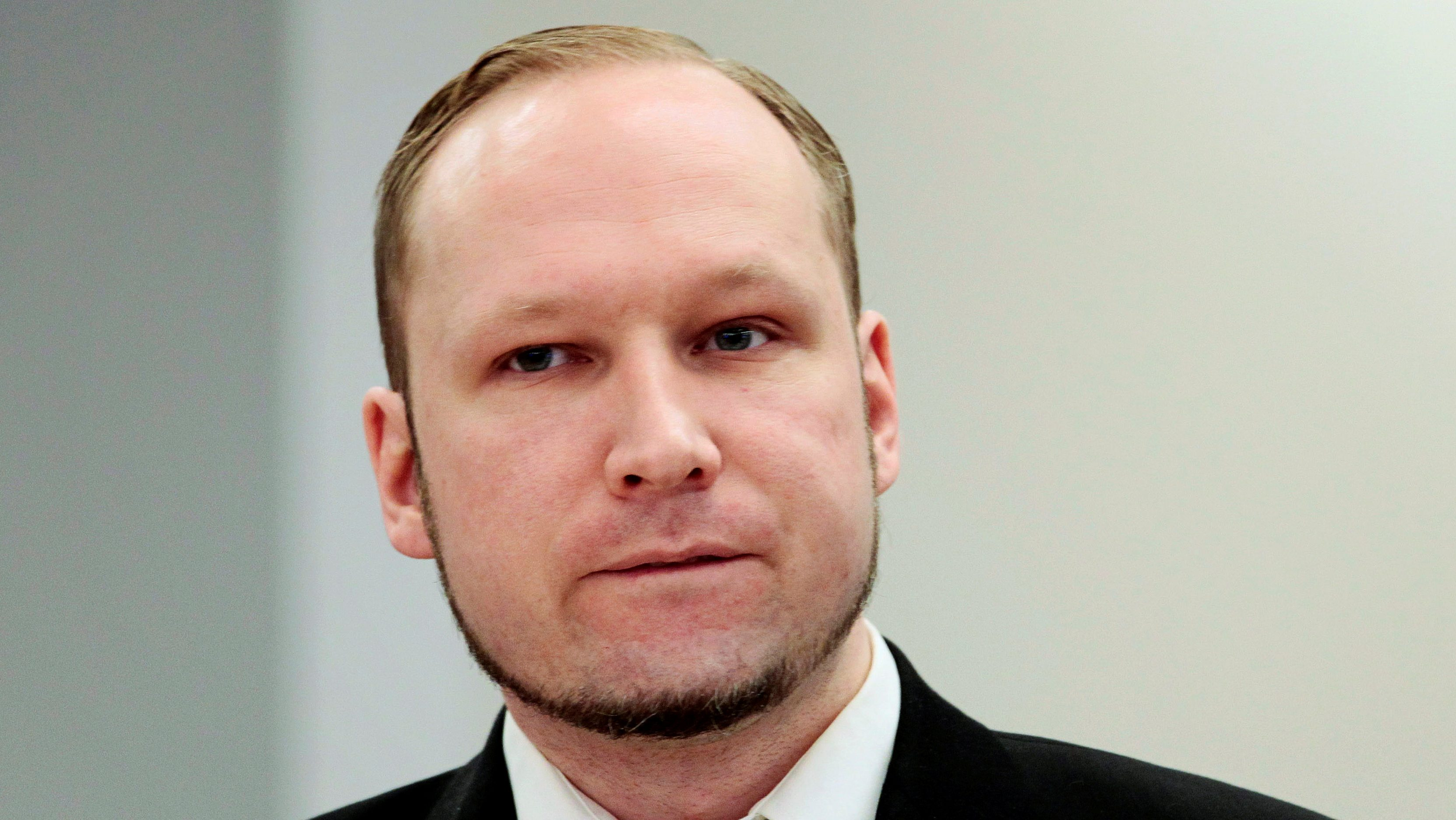 Anders Breivik at his trial