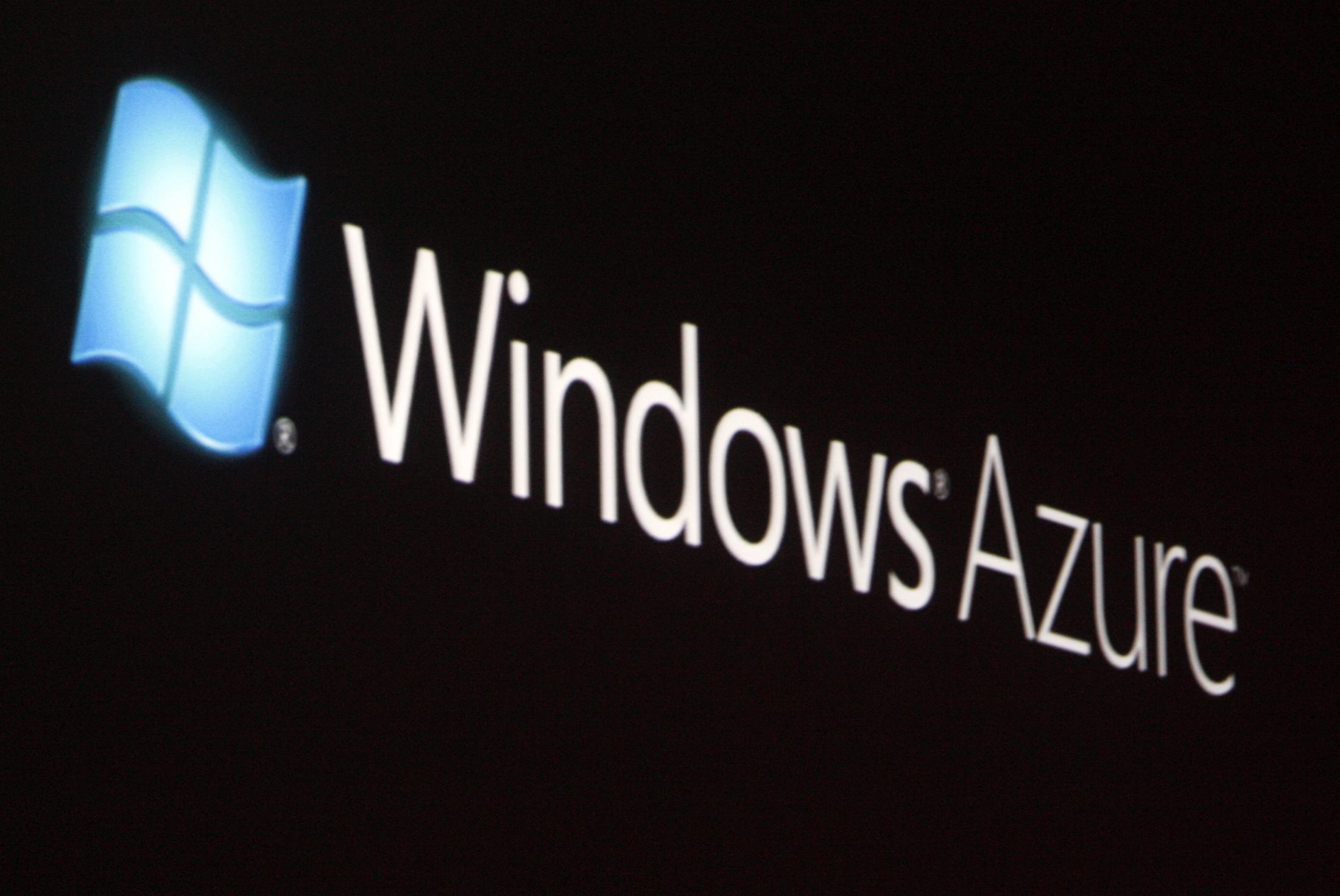 Reuters/Windows Azure