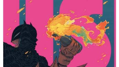Batman image that DC Comics withdrew after uproar in mainland China.