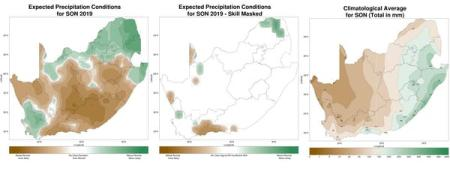South Africa drought weather prediction