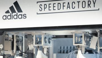 Machines at an Adidas Speedfactory