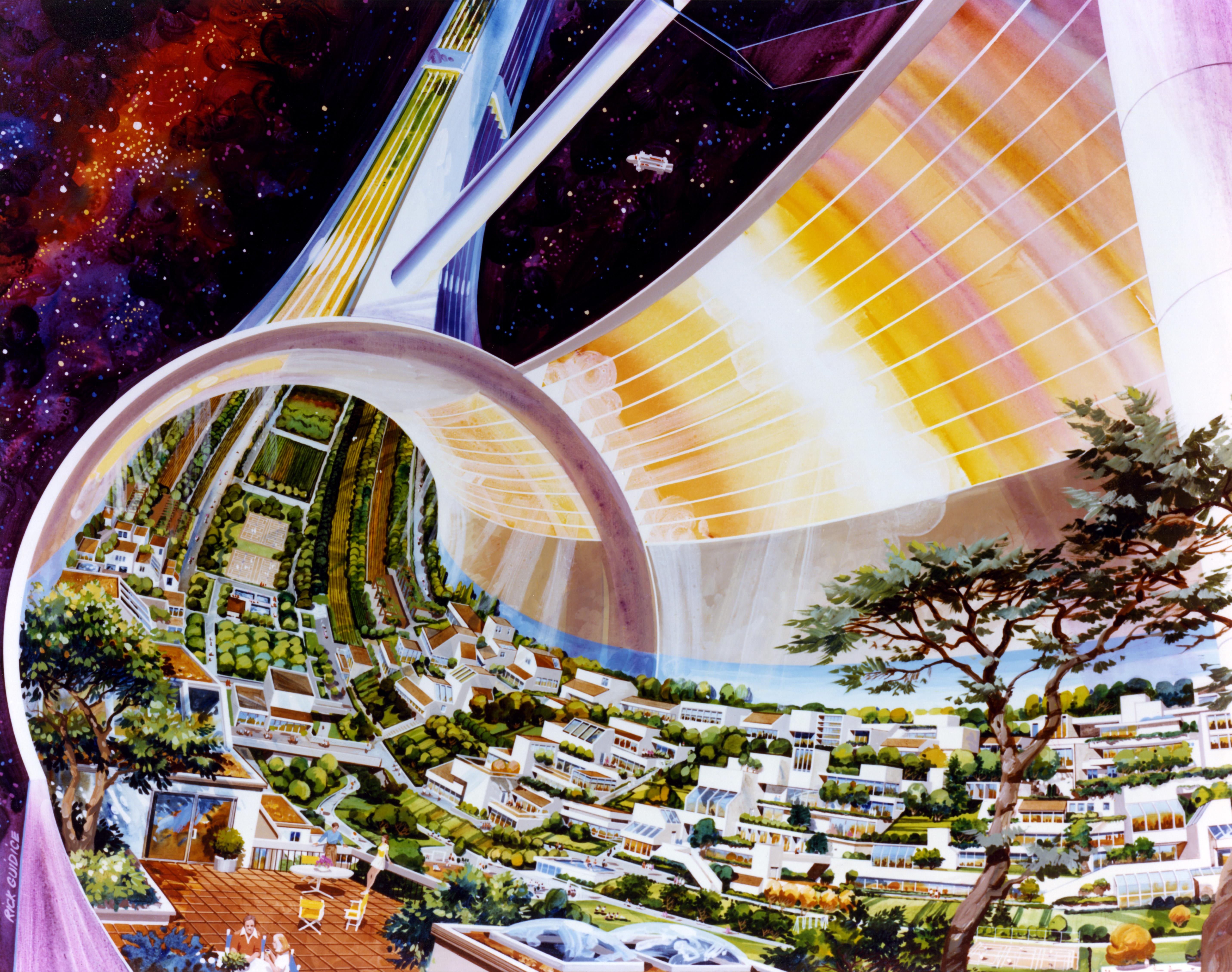 NASA Toroidal Colonies