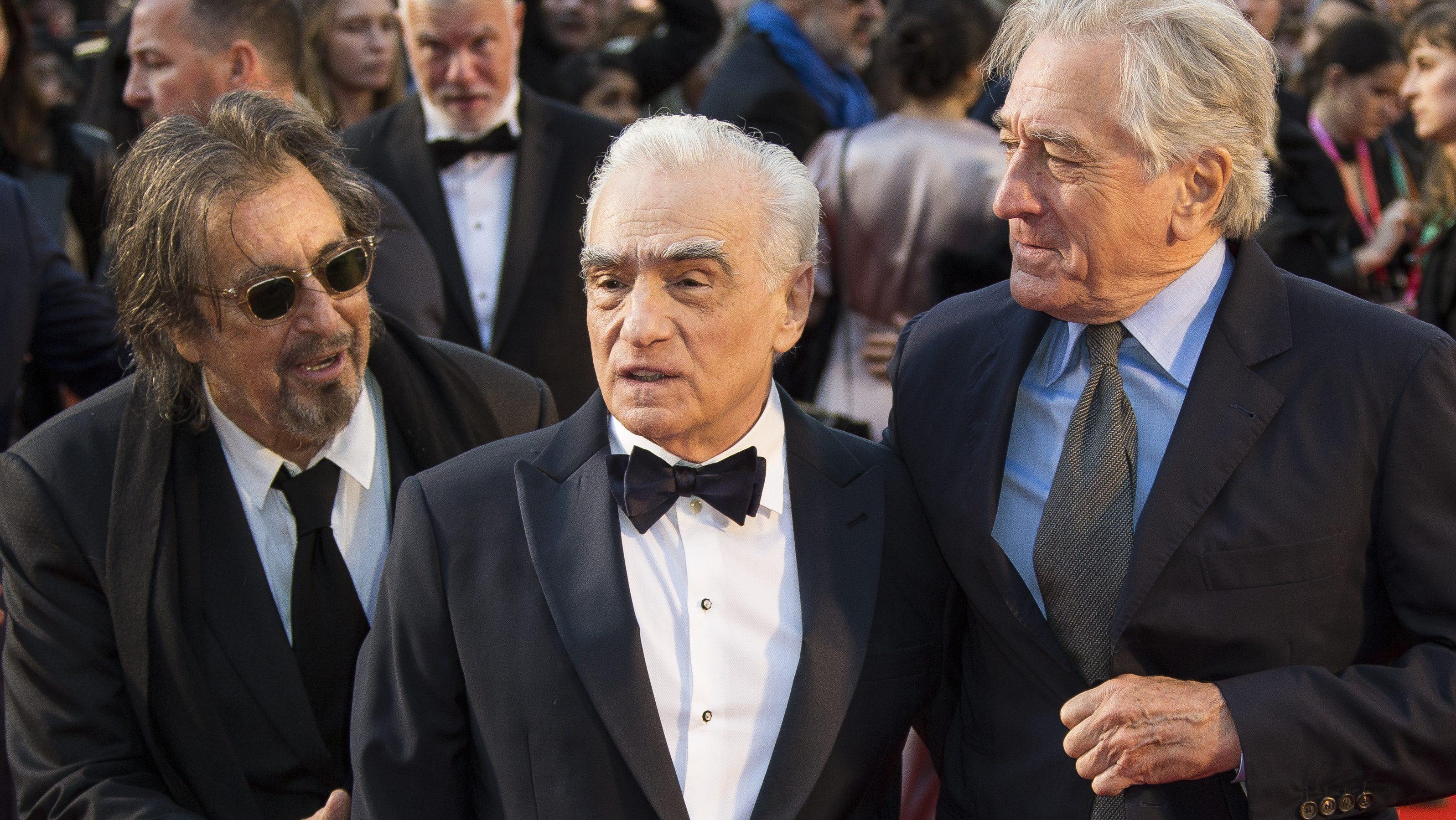 Al Pacino, Martin Scorsese, Robert De Niro