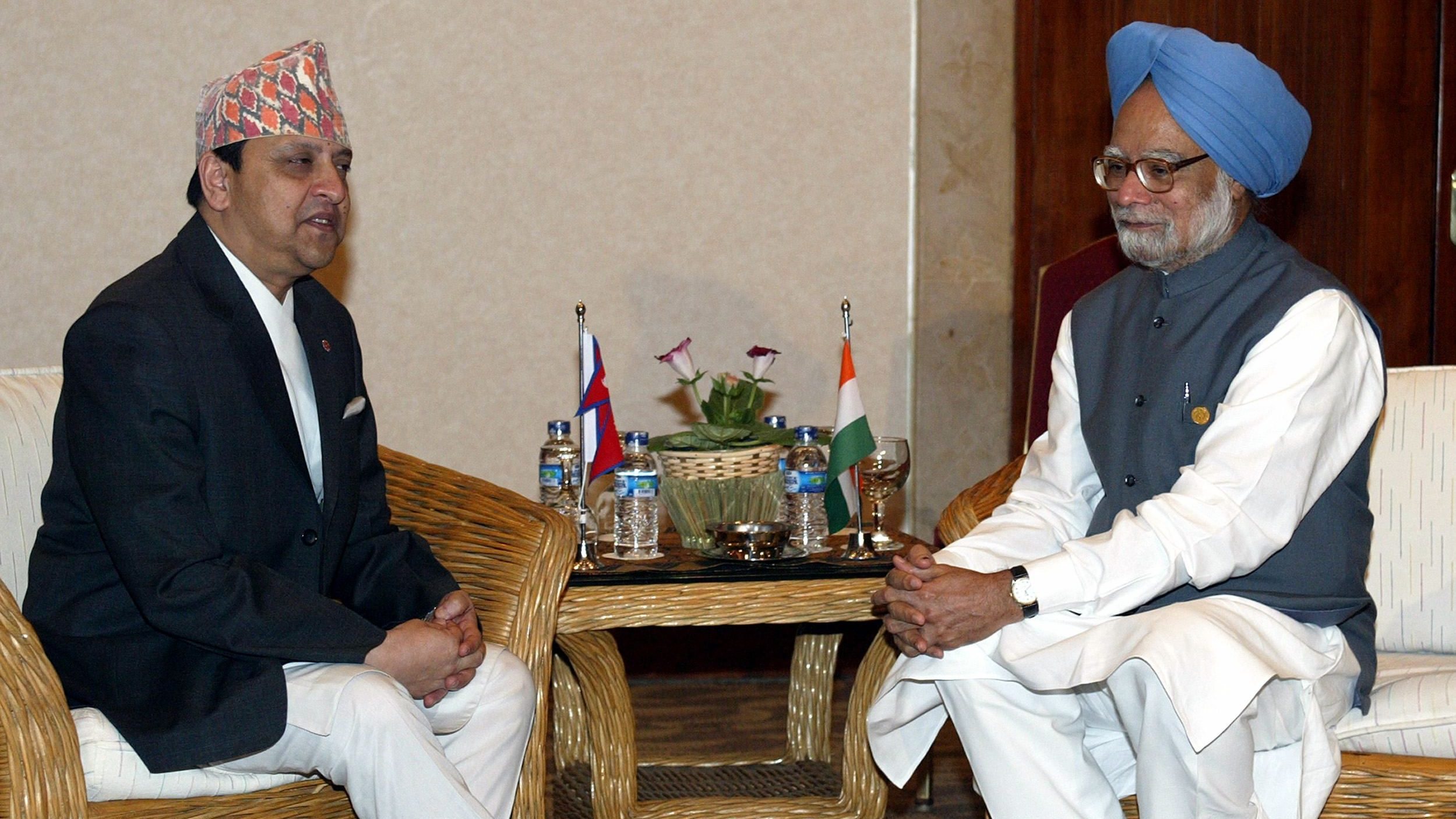 India-Nepal ties were threatened by King Gyanendra's ambition