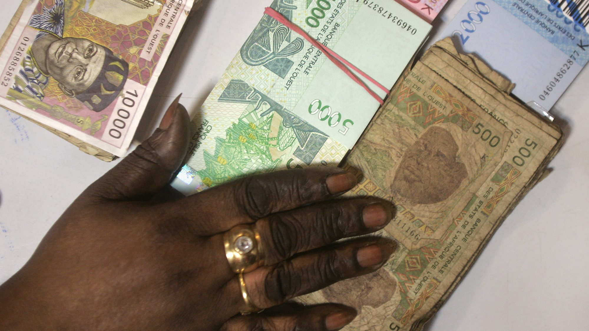 How the France-backed African CFA franc works