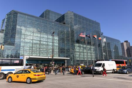 """New York's Jacob Javits Center is an exemplar of """"bird friendly"""" glass architecture."""