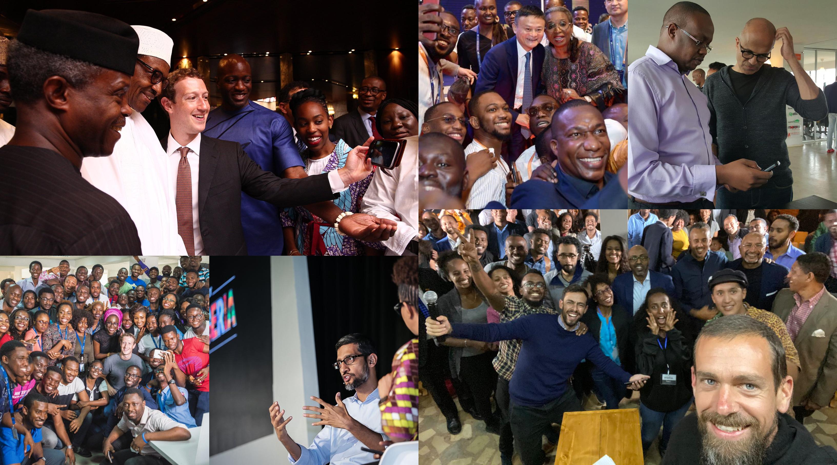 Jack Dorsey Jack Ma Zuckerberg Visit Africa Tech Hubs Quartz Africa