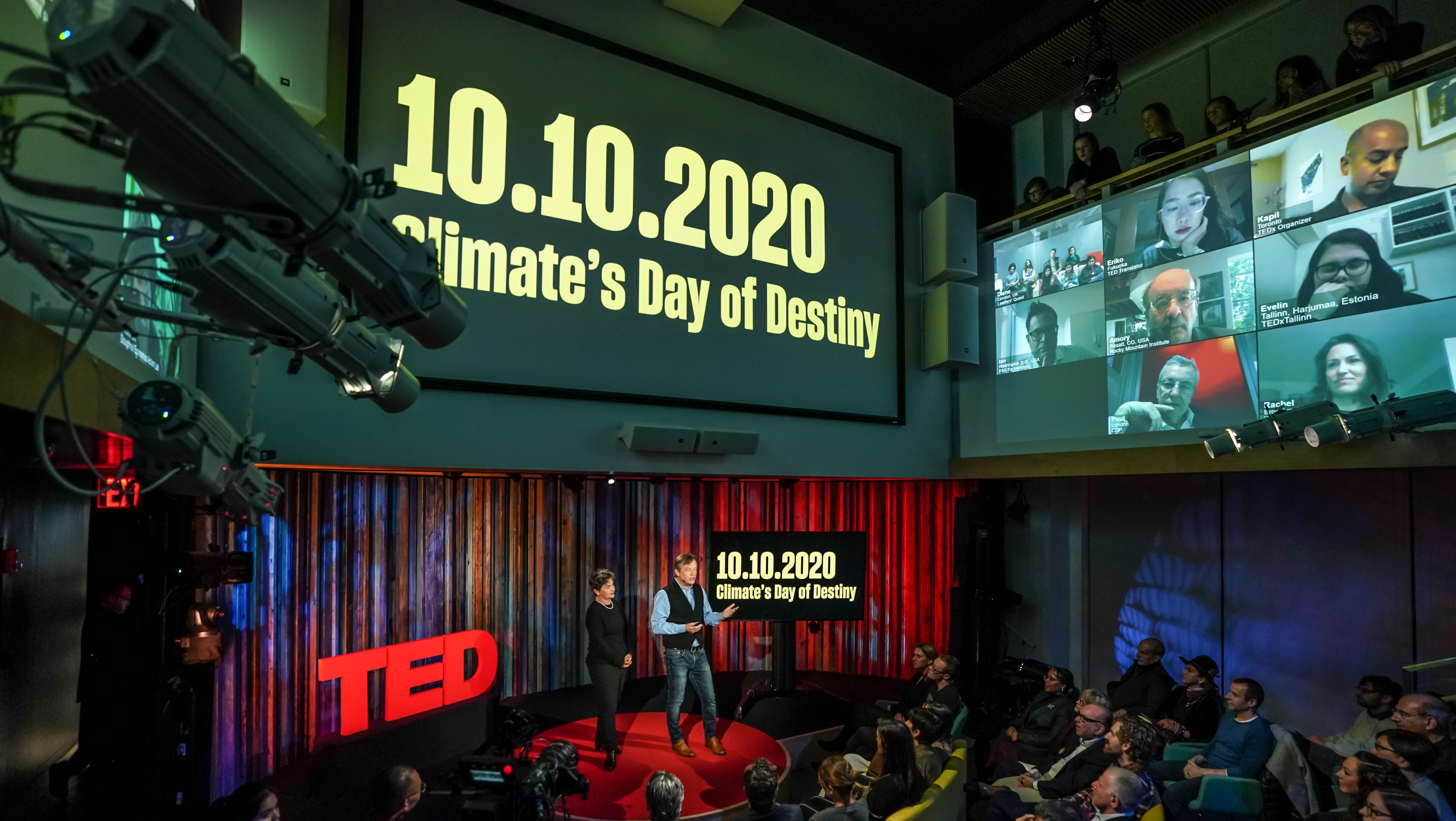 TED wants to become the global hub for the climate change crisis