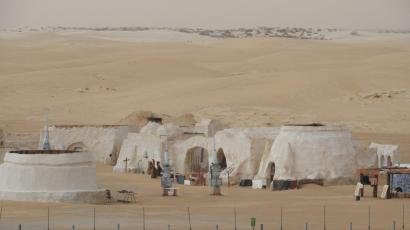 Abandoned Star Wars set in Tunisia