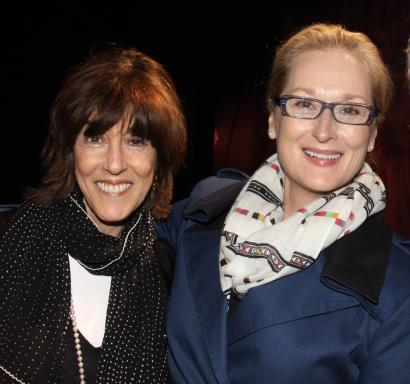 Nora Ephron and Meryl Streep