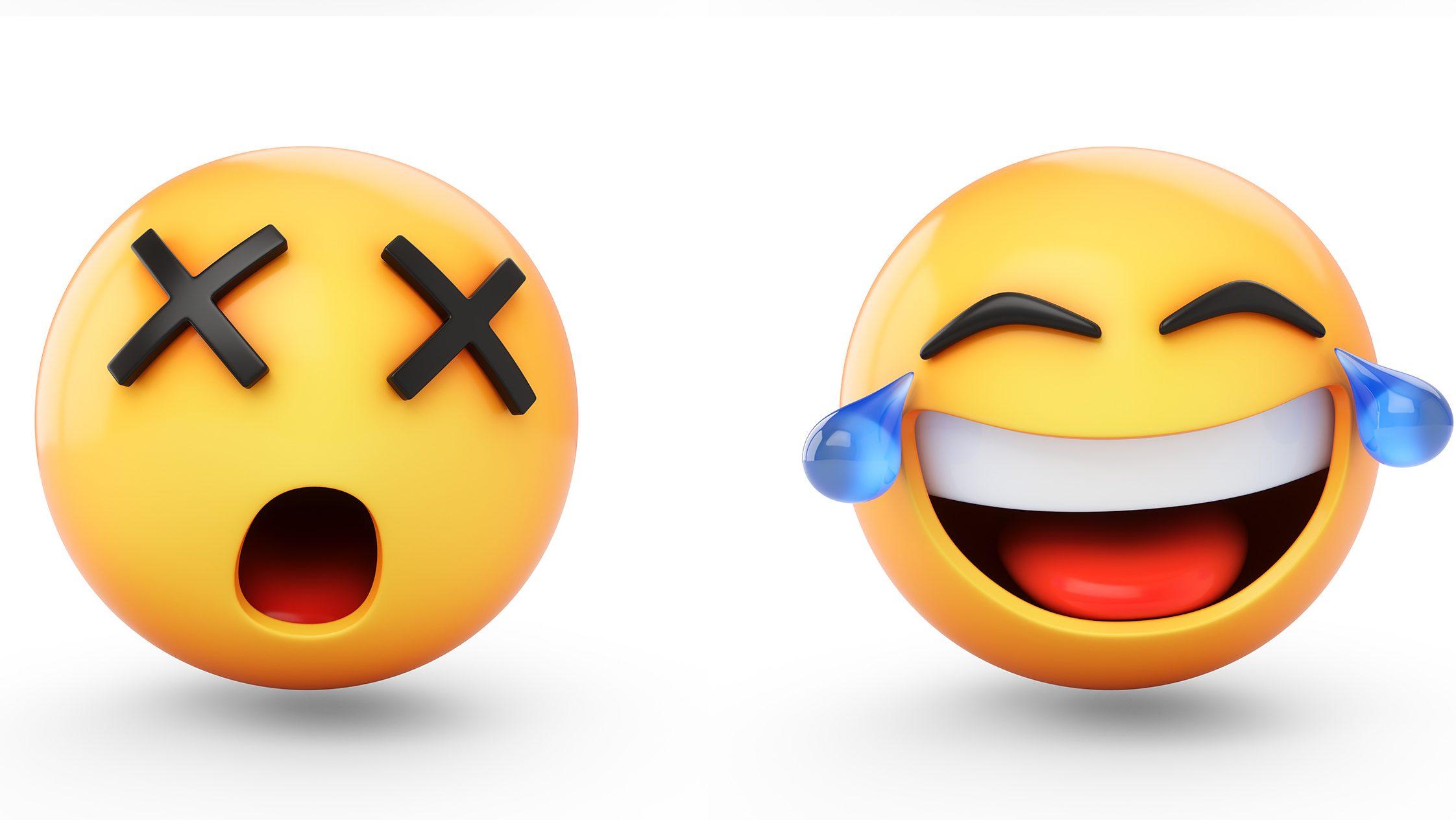 3D set of emojis