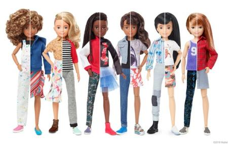 Picture of new Mattel toy line