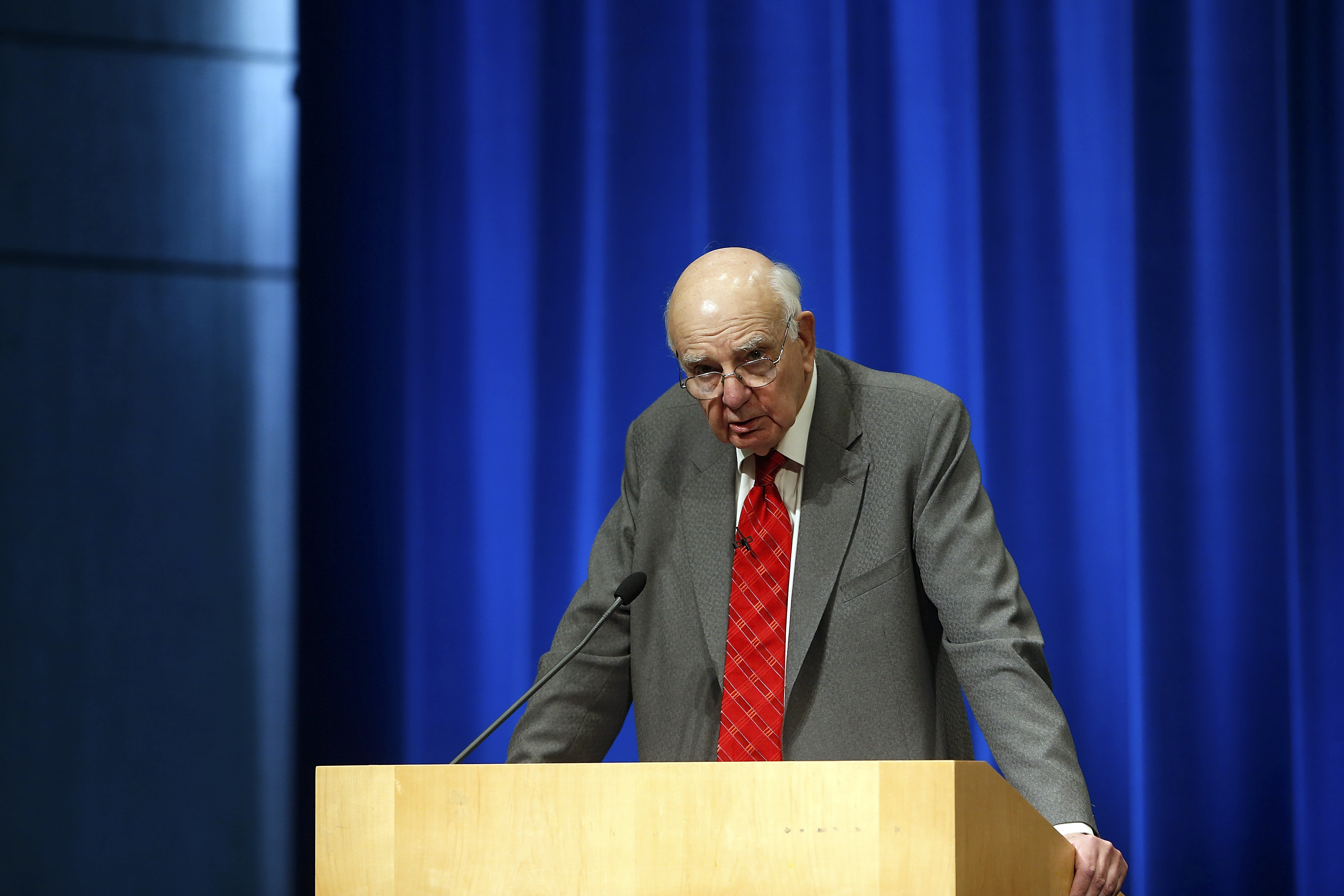 They don't make central bankers like Paul Volcker anymore