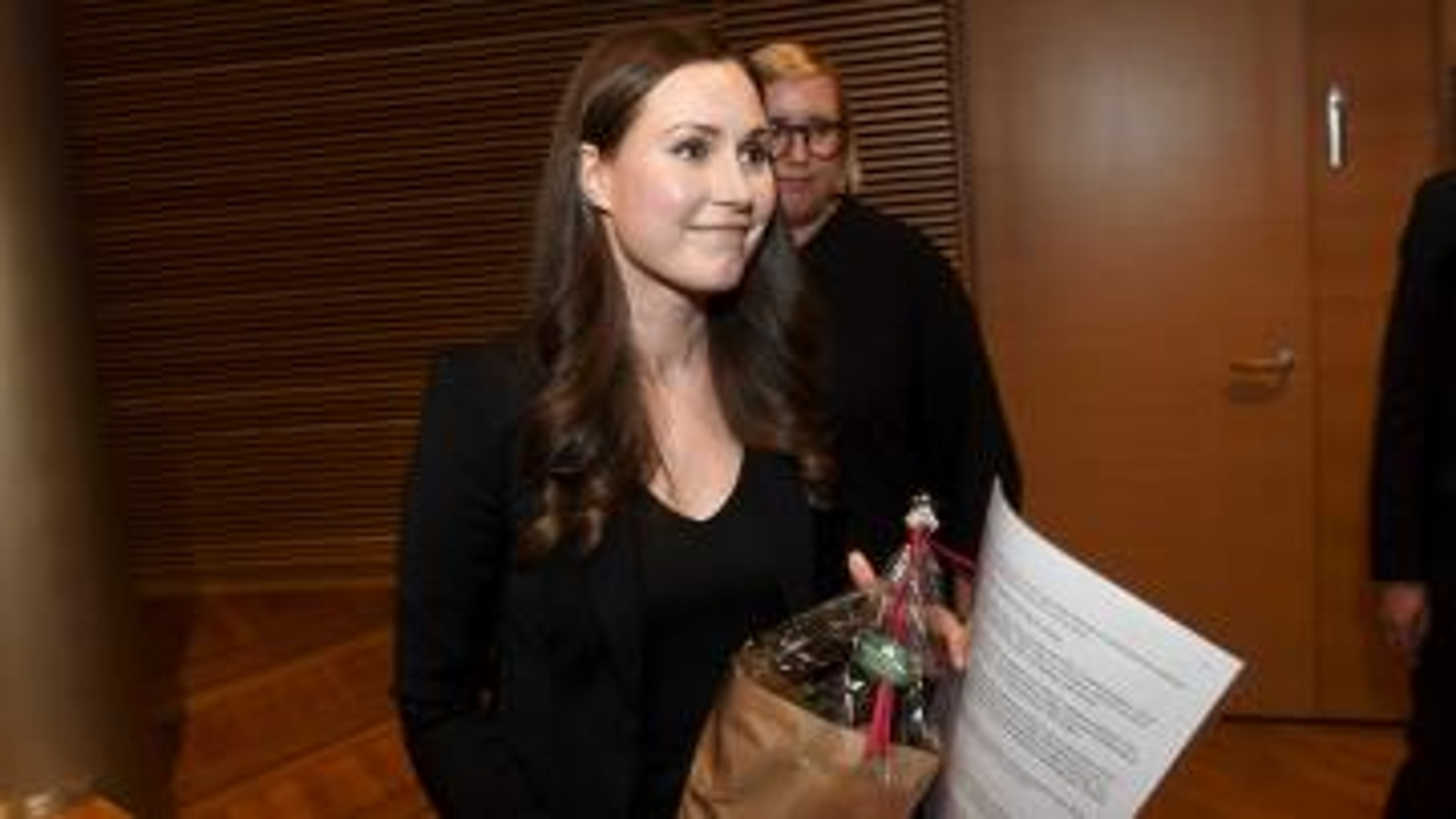 Sanna Marin, Finland's next PM.