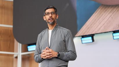 A photograph of Sundar Pichai