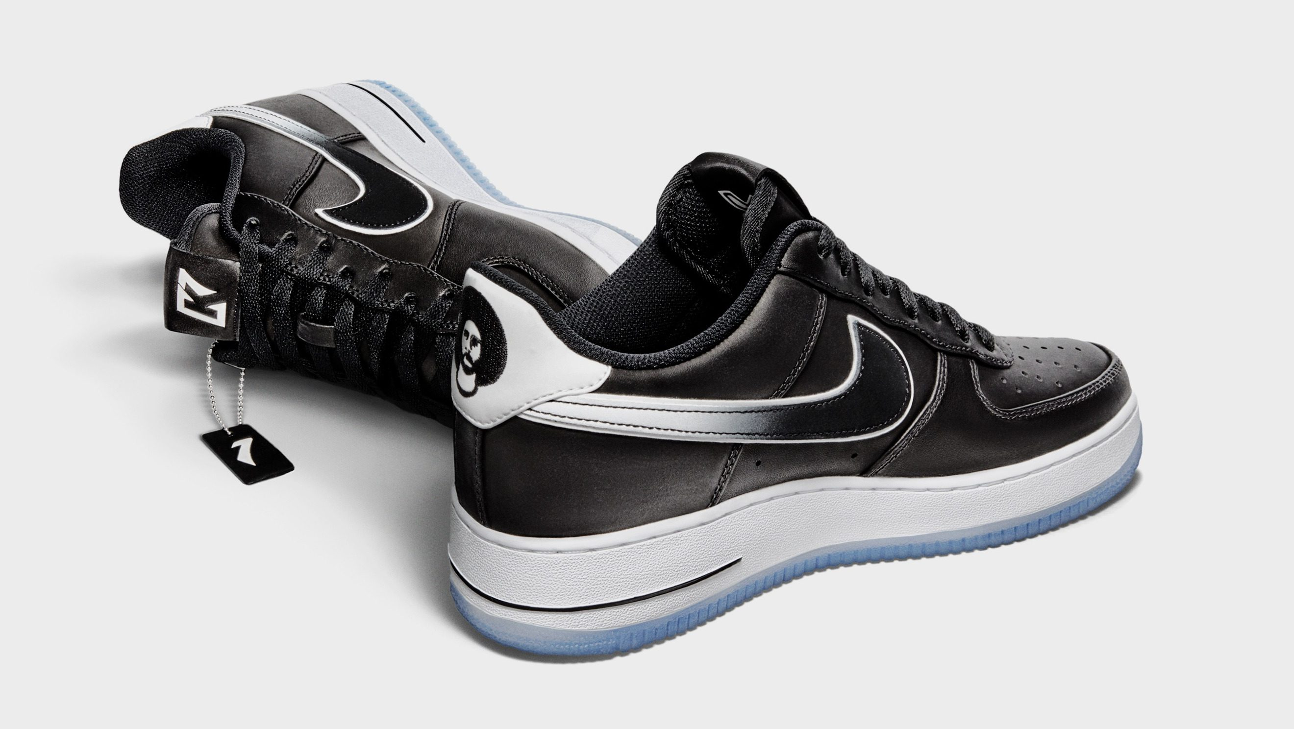 A product shoe of the Nike Air Force 1 Colin Kaepernick