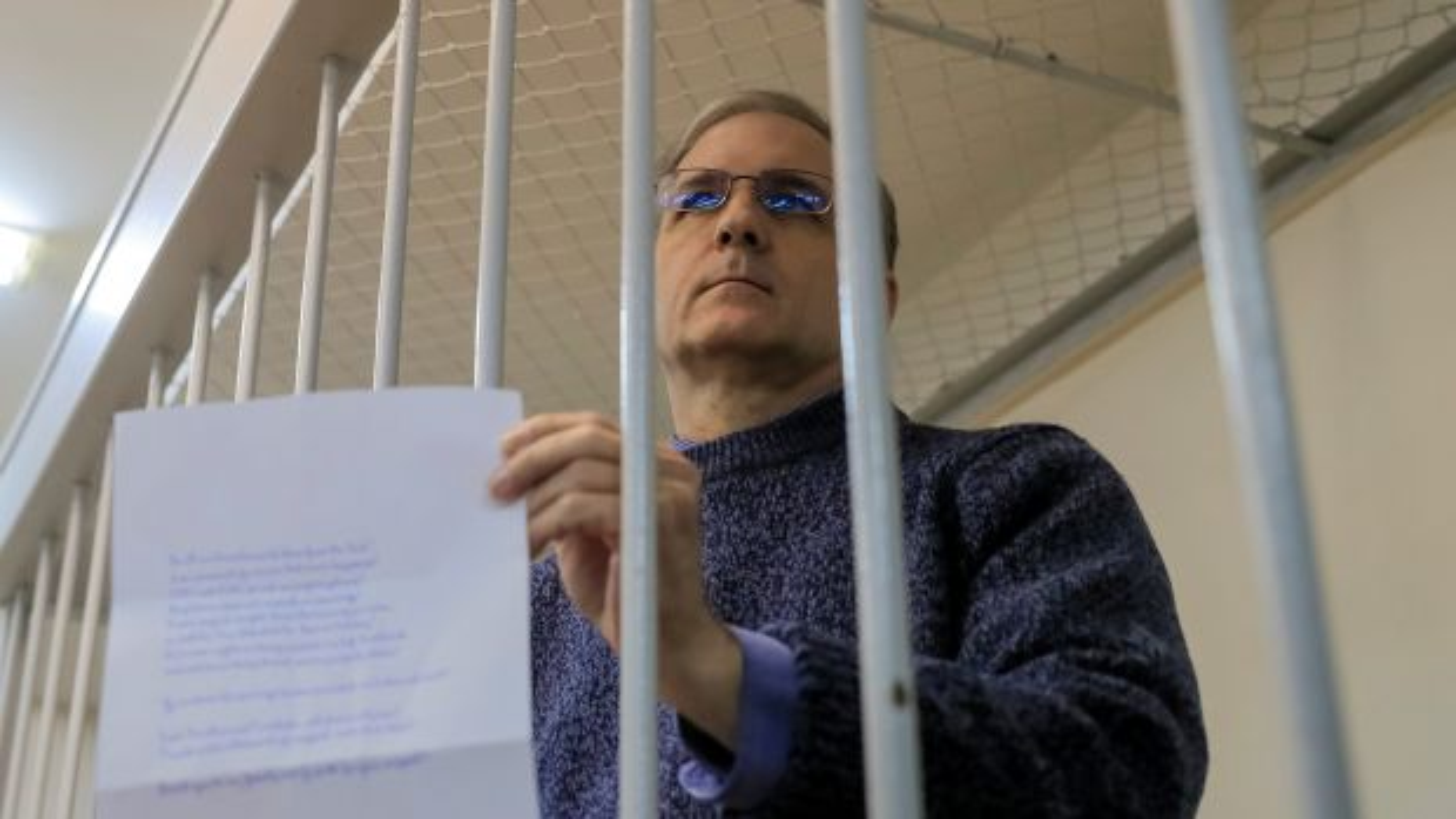 "American ""spy"" denied Thanksgiving dinner in Russian prison"