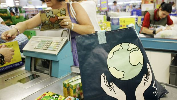 Reusable plastic bags seem to be doing more harm than good.
