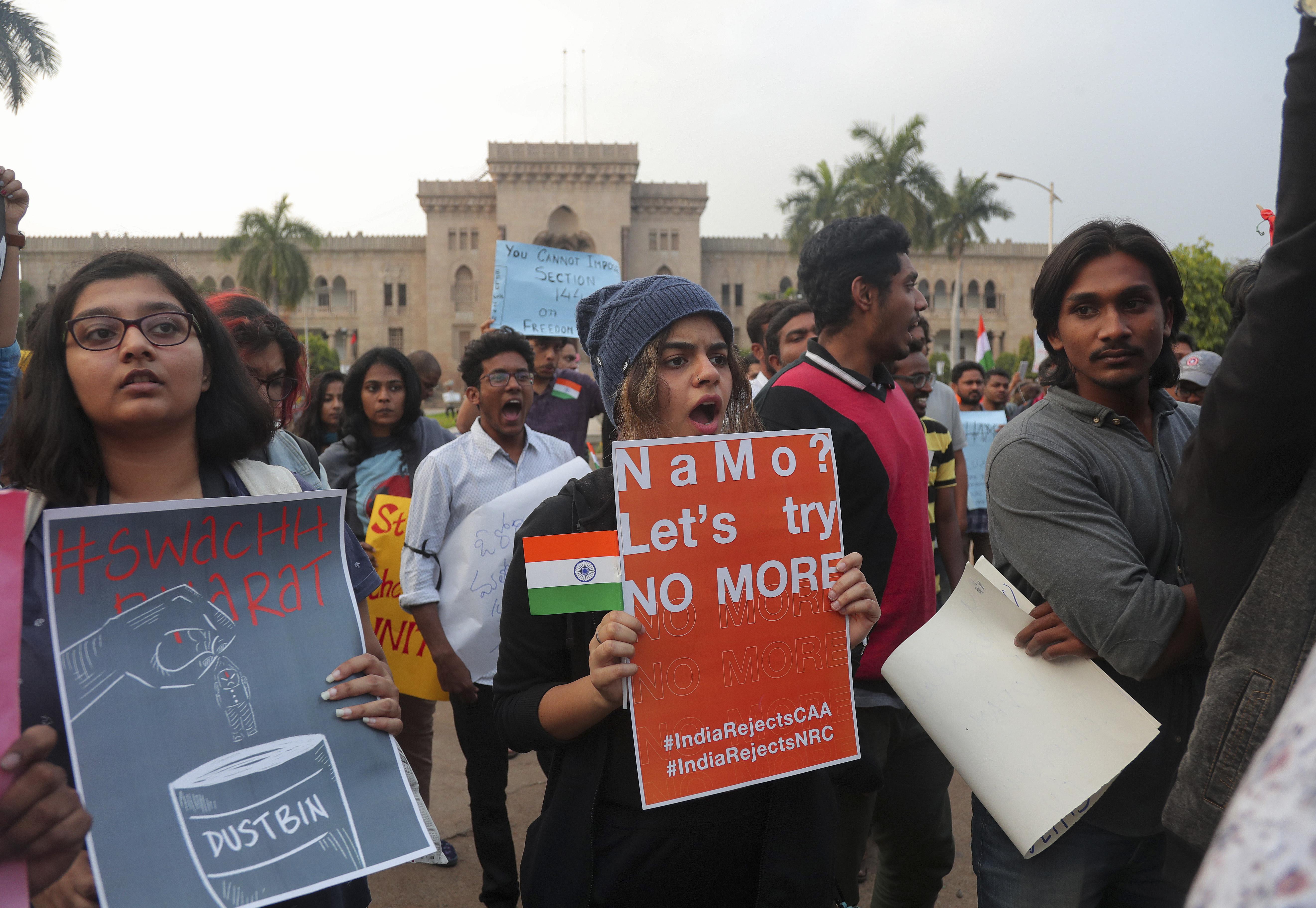 India University Violence