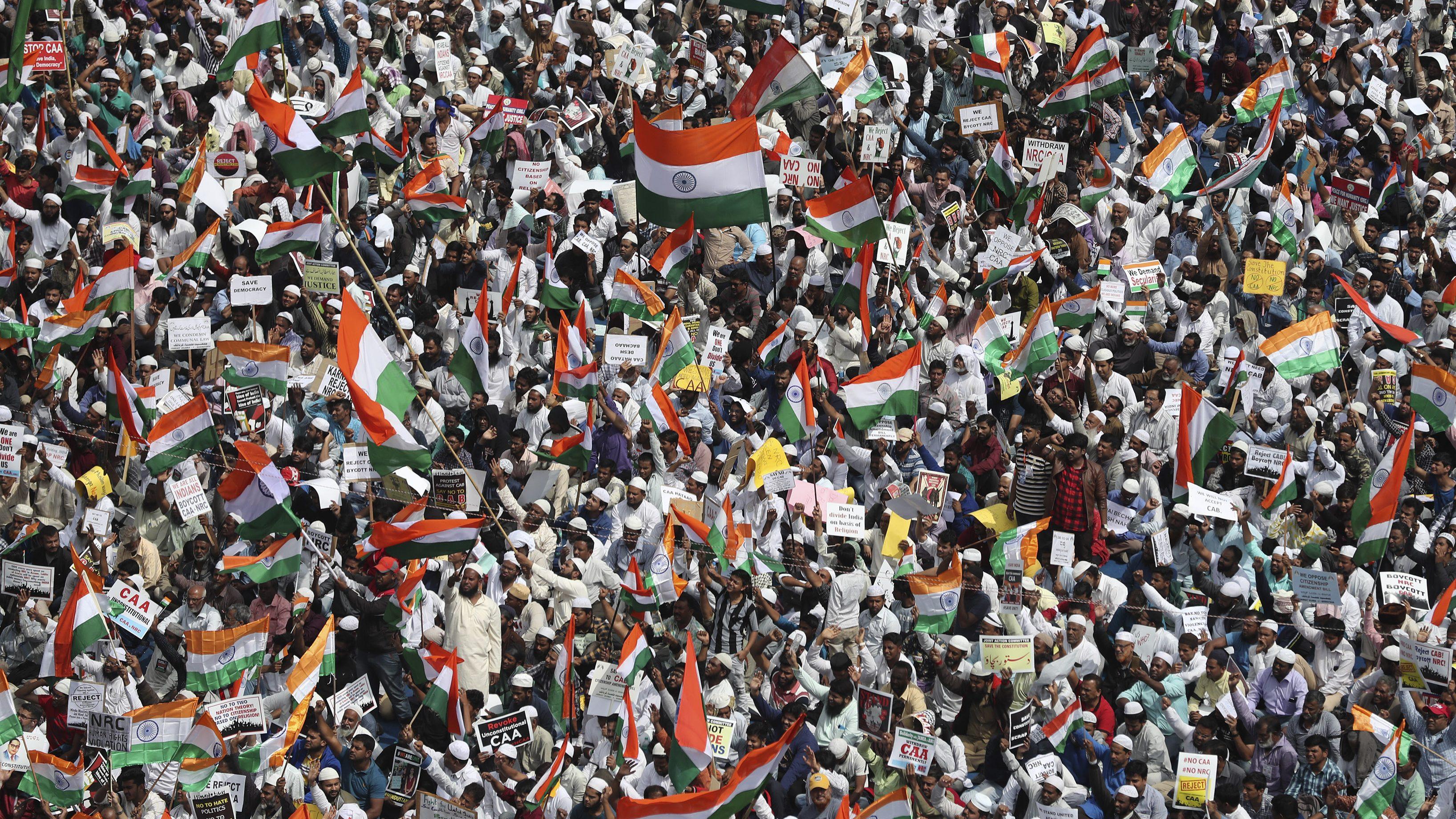 India-Democracy Index-CAA