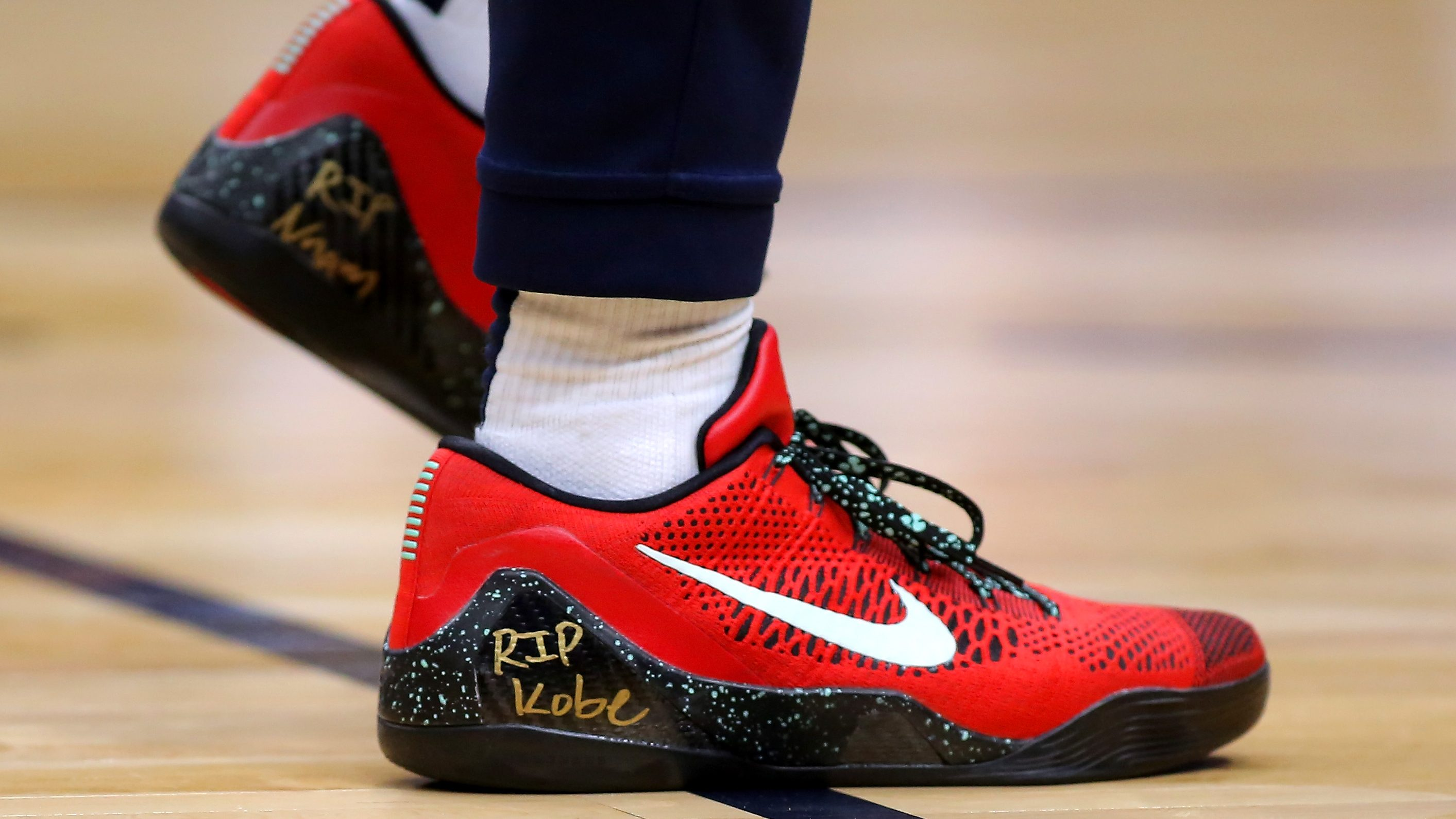trae young custom shoes