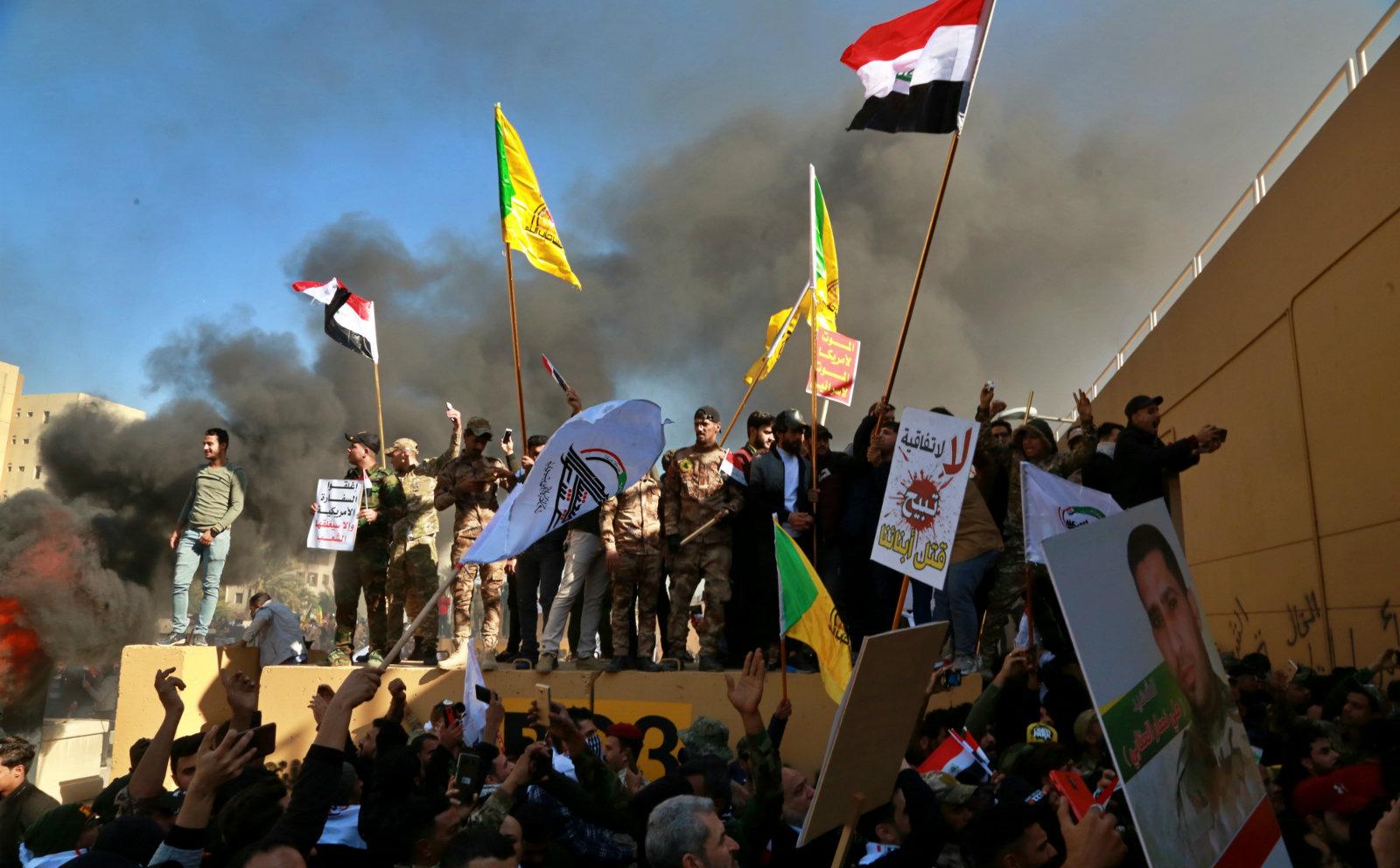 Image result for iran iraq us