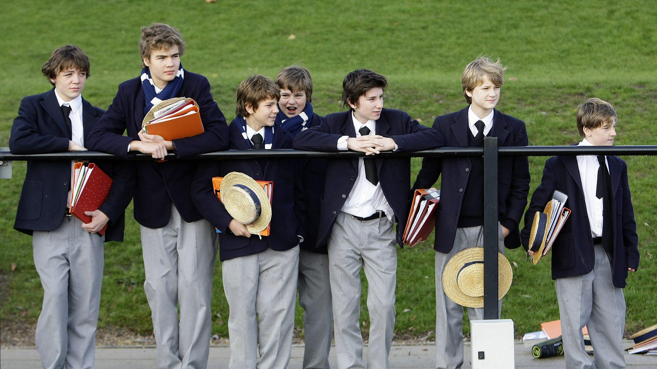 School boys of Harrow School