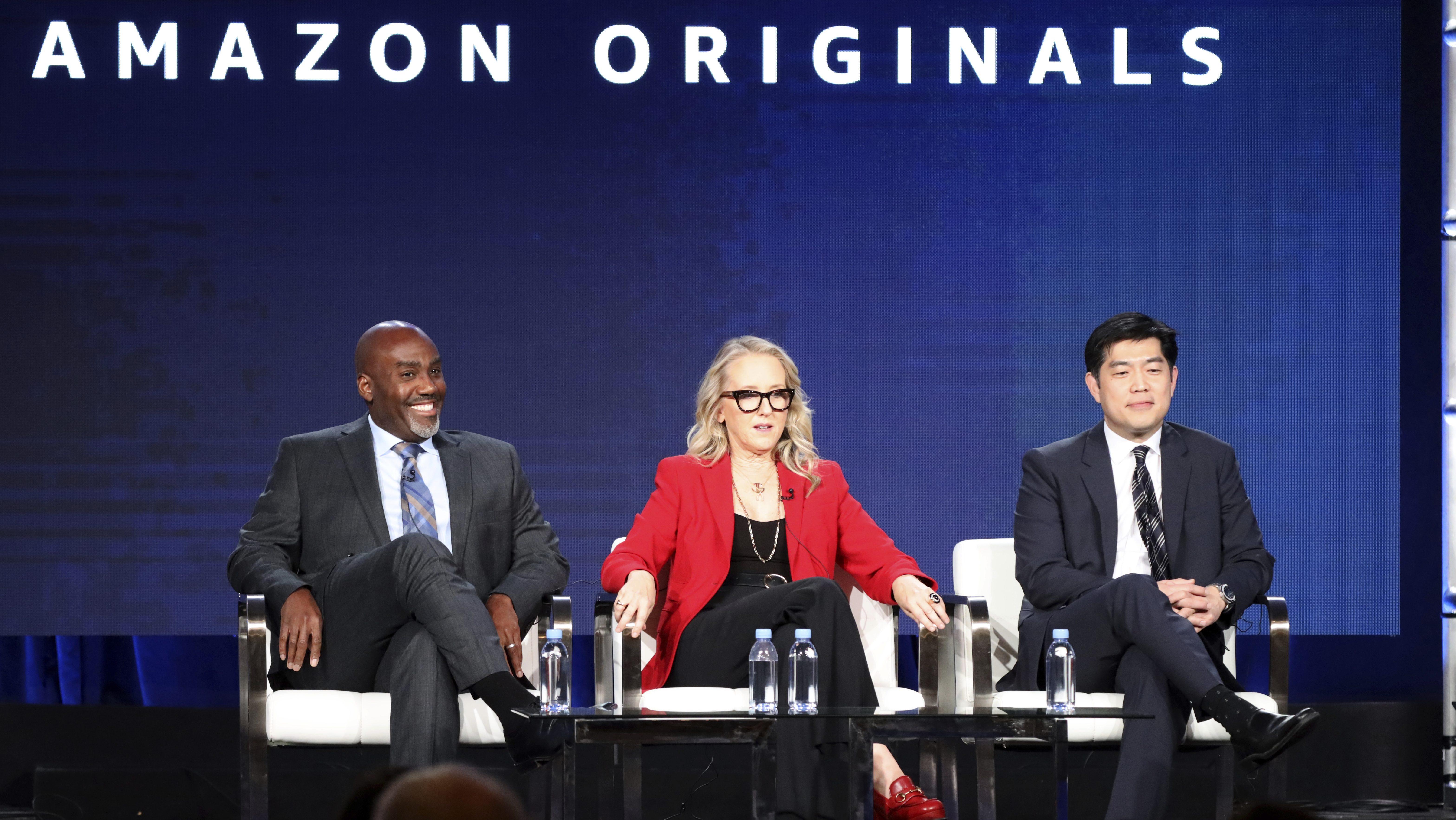 Vernon Sanders, Jennifer Salke, Albert Cheng
