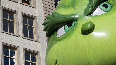 grinch balloon