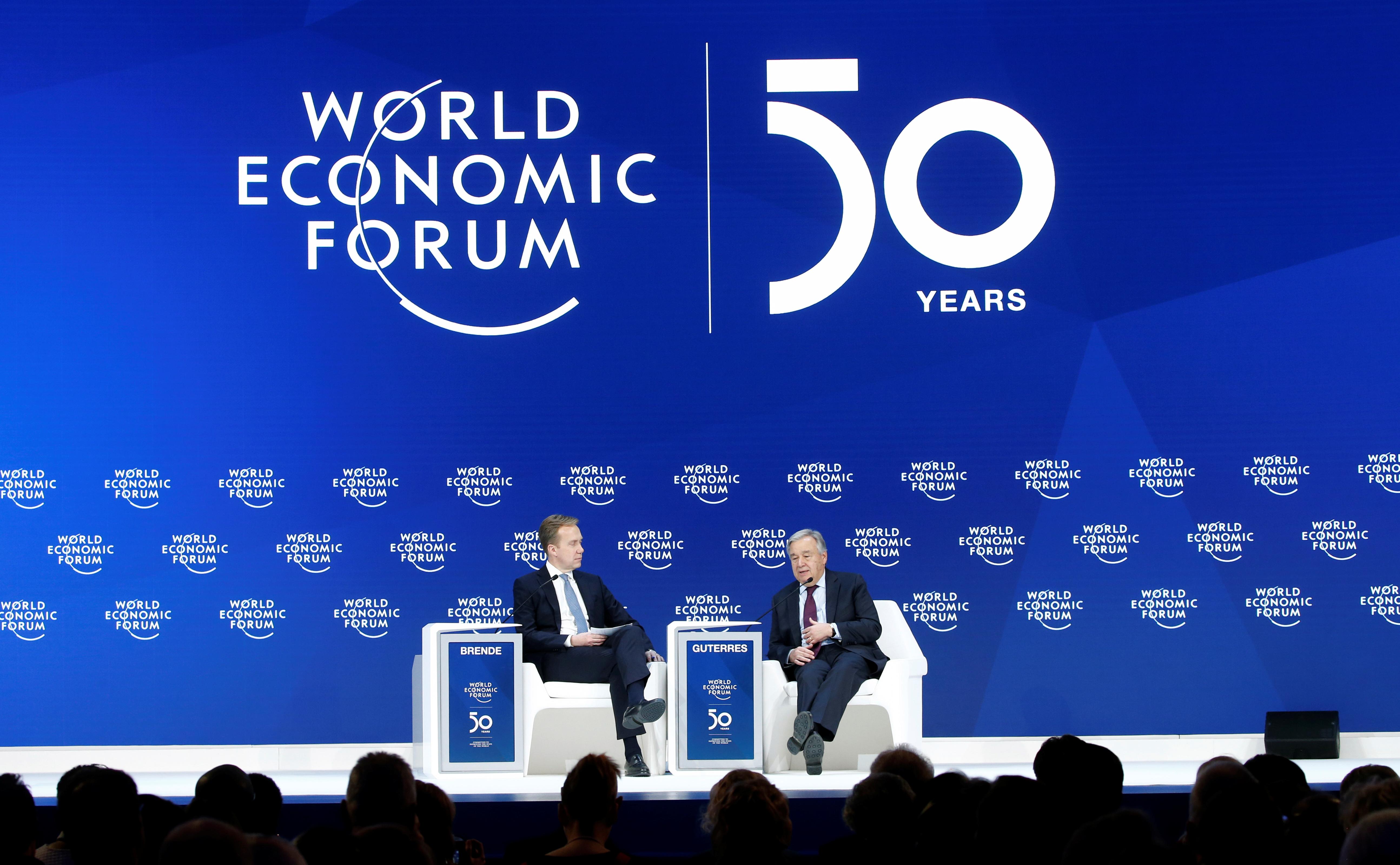 50th World Economic Forum (WEF) in Davos, Switzerland January 23, 2020,