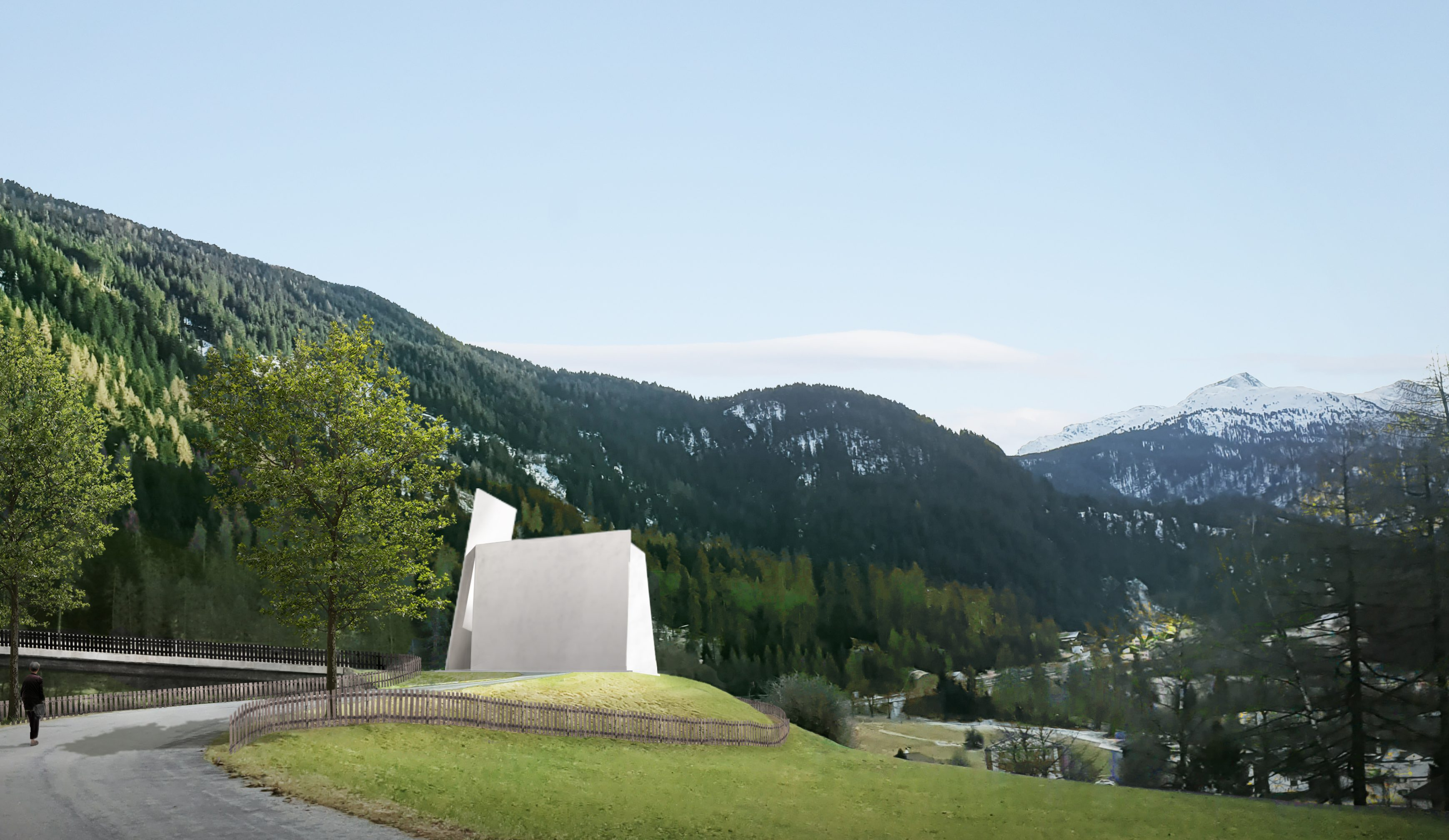 Switzerland's upcoming autobahnkirche will be open to all faiths.