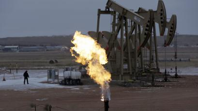 Oil pumps can be a major source of methane leaks.