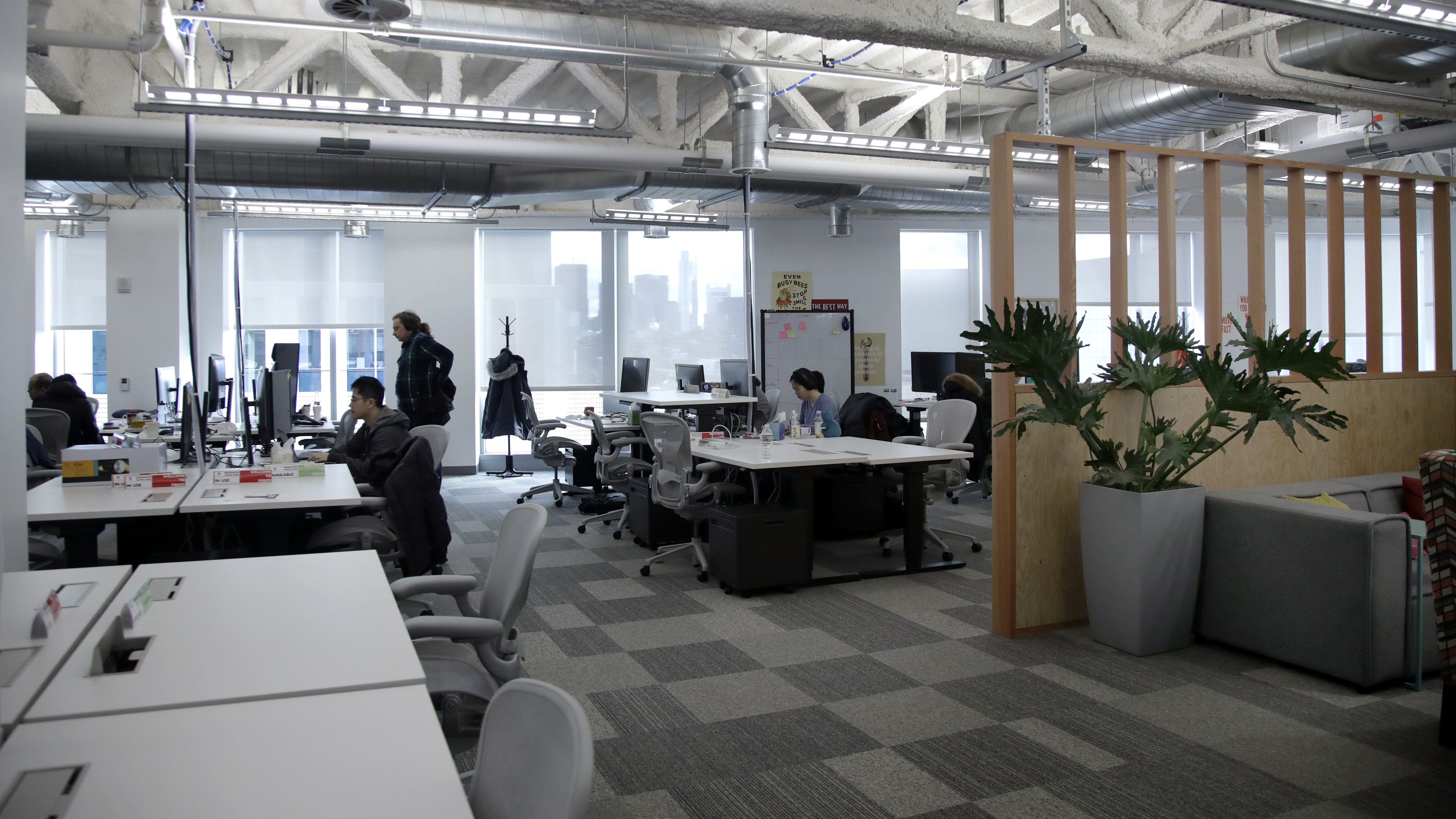 Open-plan offices — Quartz Daily Obsession