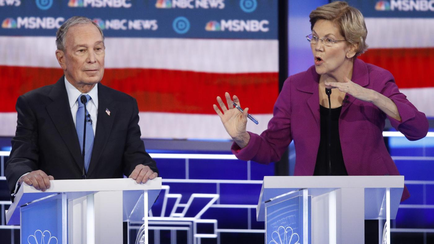 In a shot against Michael Bloomberg, Elizabeth Warren shows how easy it is to nullify an NDA
