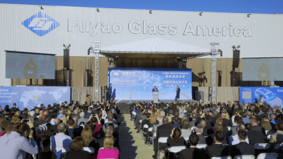 """A Chinese-owned Fuyao Glass plant in Ohio is the subject of the documentary """"American Factory."""""""