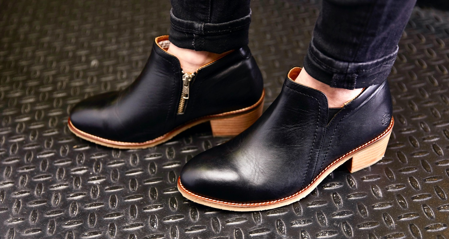 stylish safety boots for women in STEM