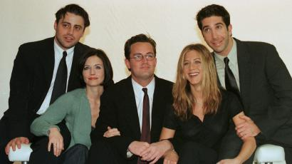 "The cast of the TV sitcom ""Friends"""