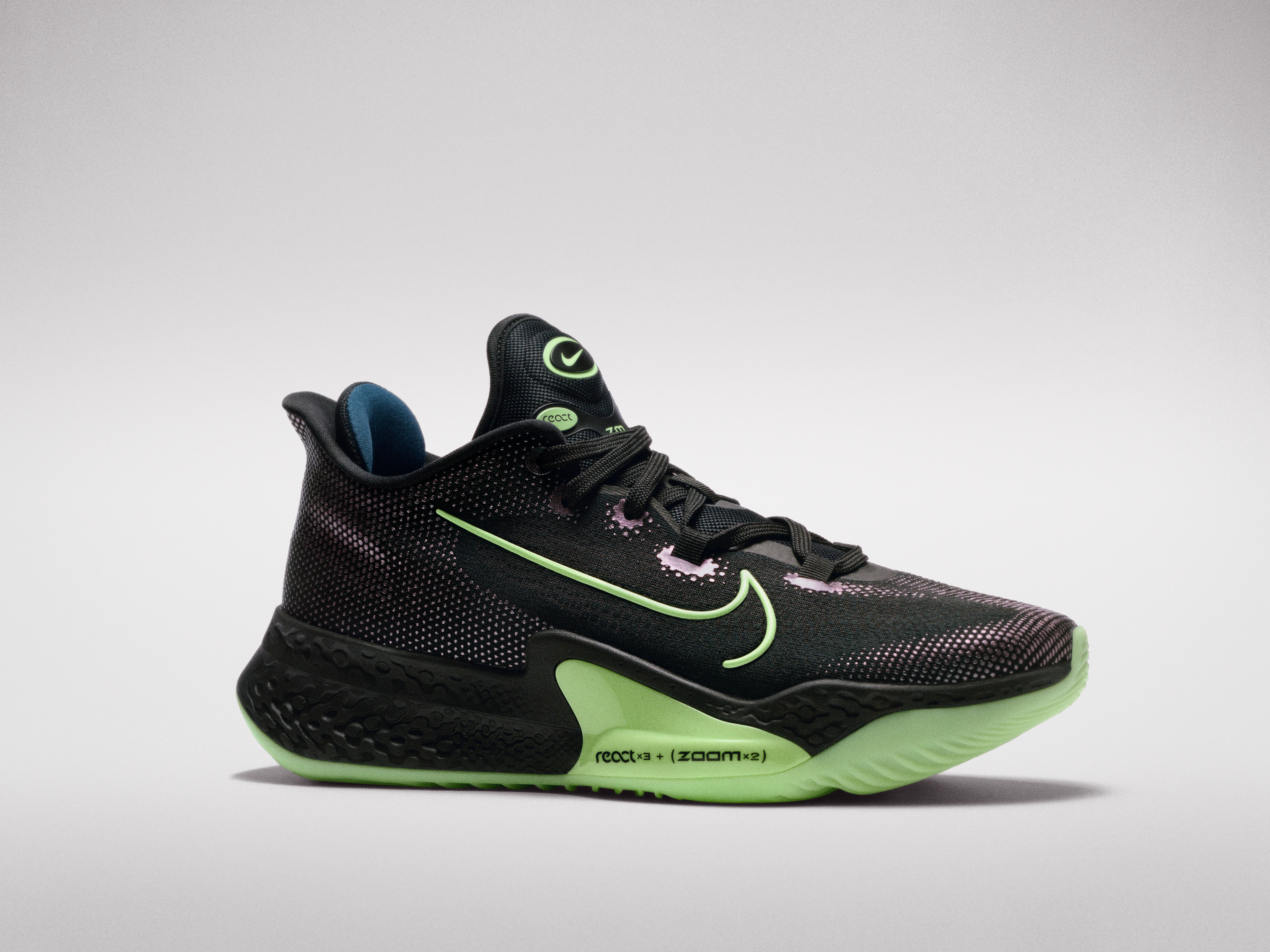 A product shot of the Nike Air Zoom BB