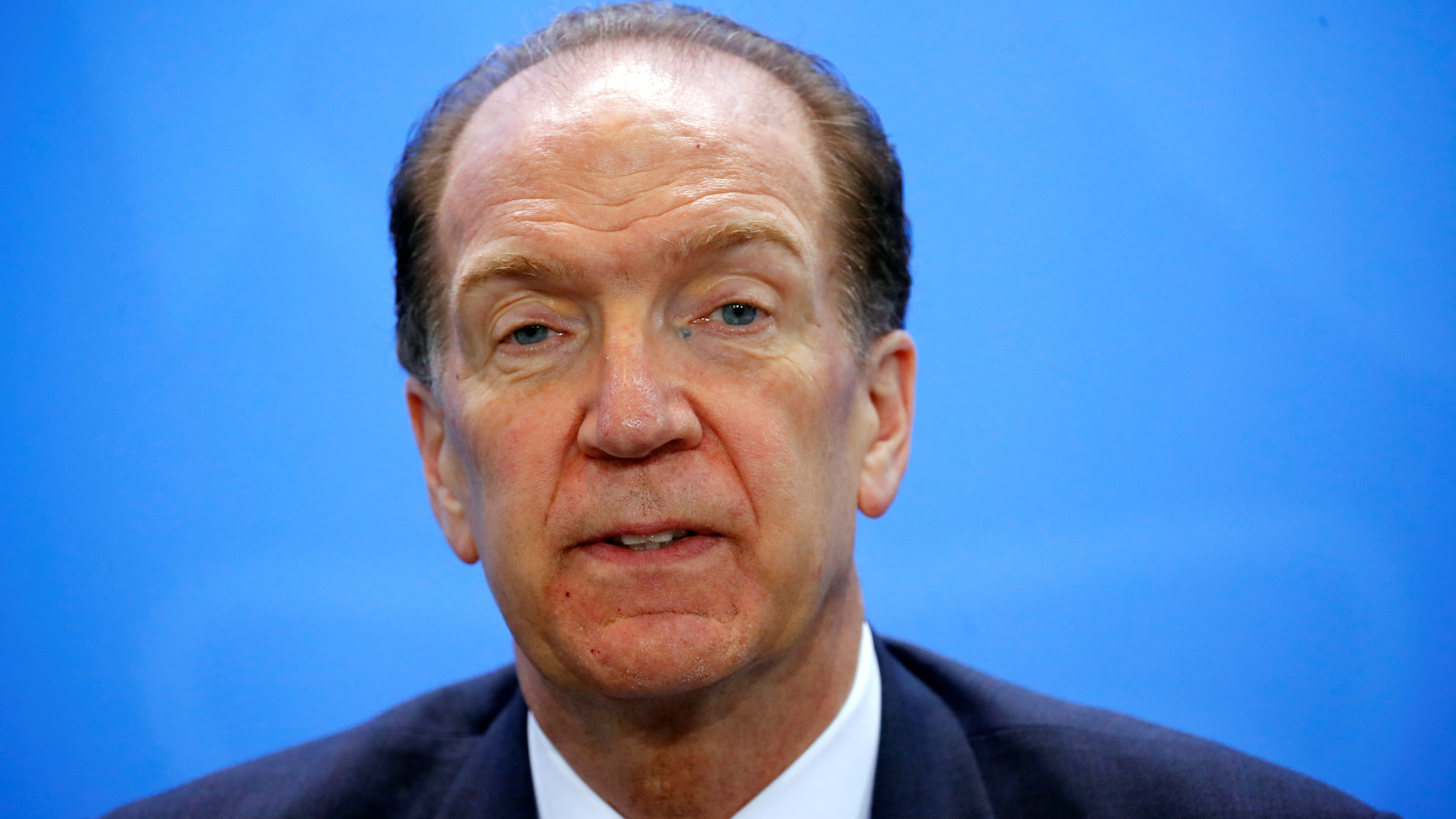World Bank Group president David Malpass.