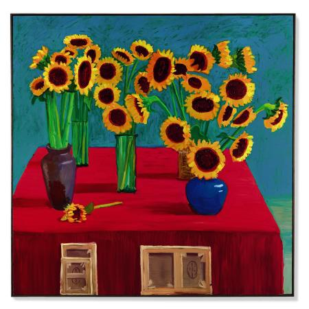 '30 Sunflowers' (1996) by David Hockney.
