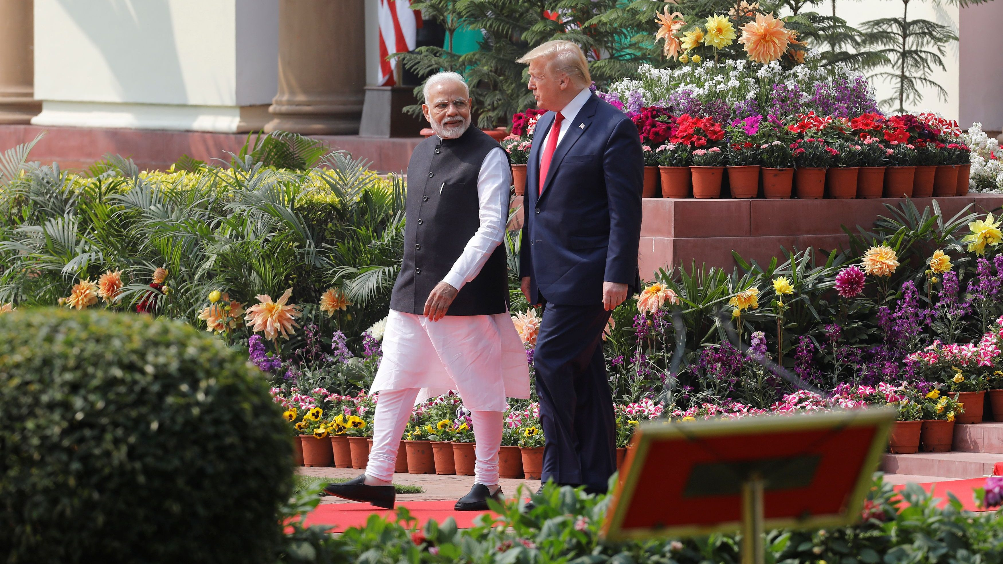 How the US went from being indifferent to fawning over India—because of China