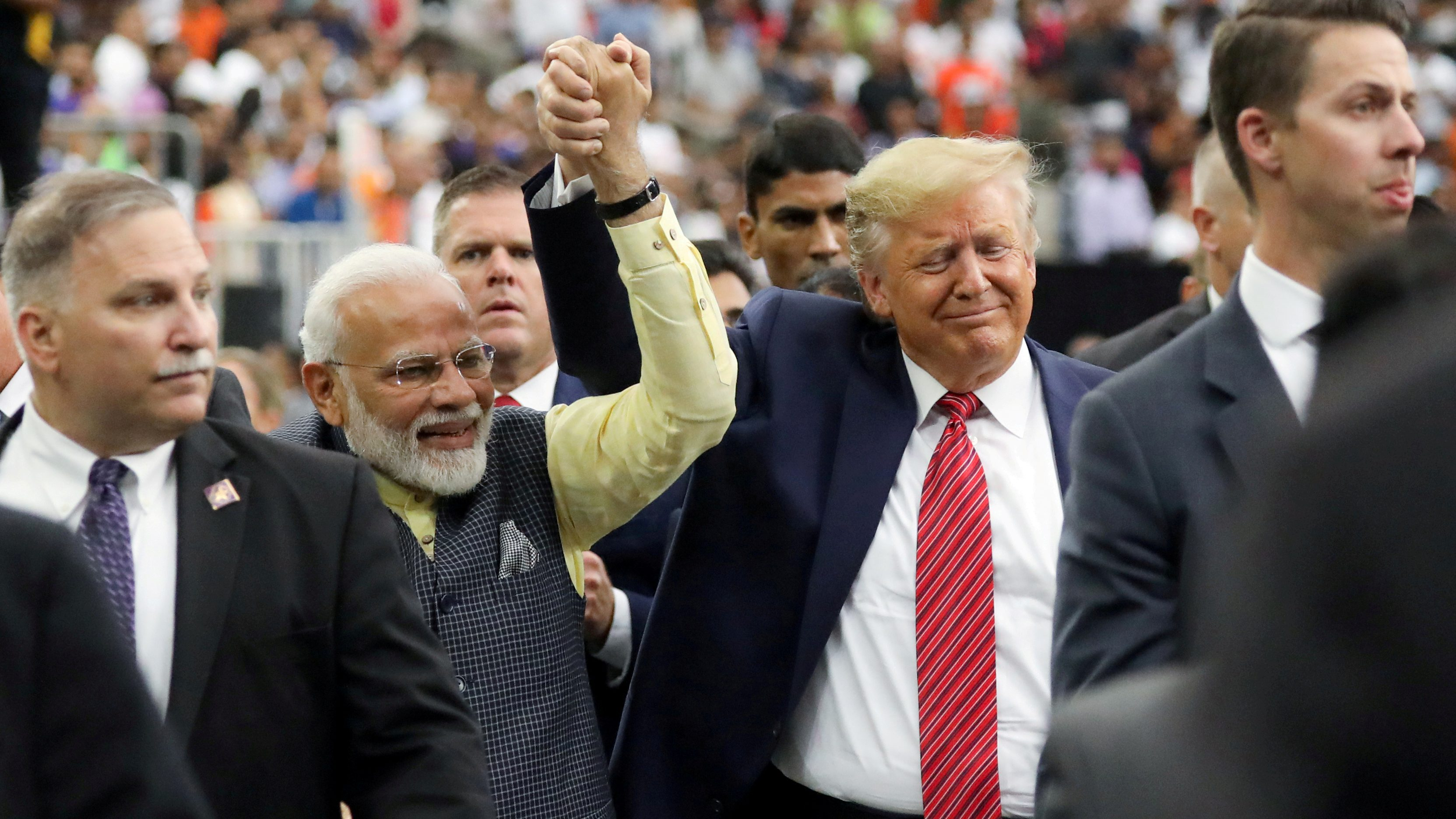 Trump's approval ratings have never been better—in India