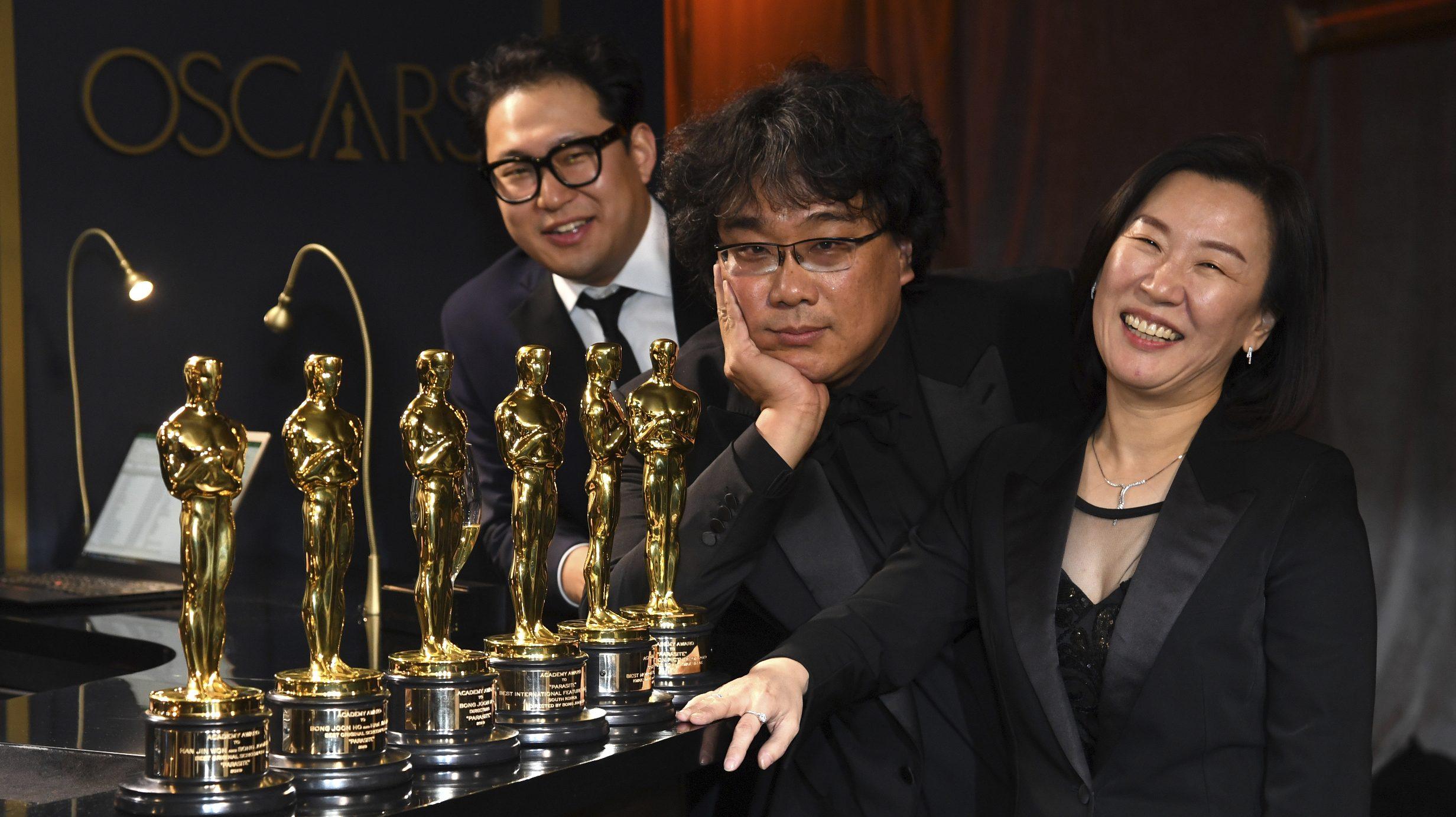 Kwak Sin Ae, Han Jin Won, Bong Joon-ho