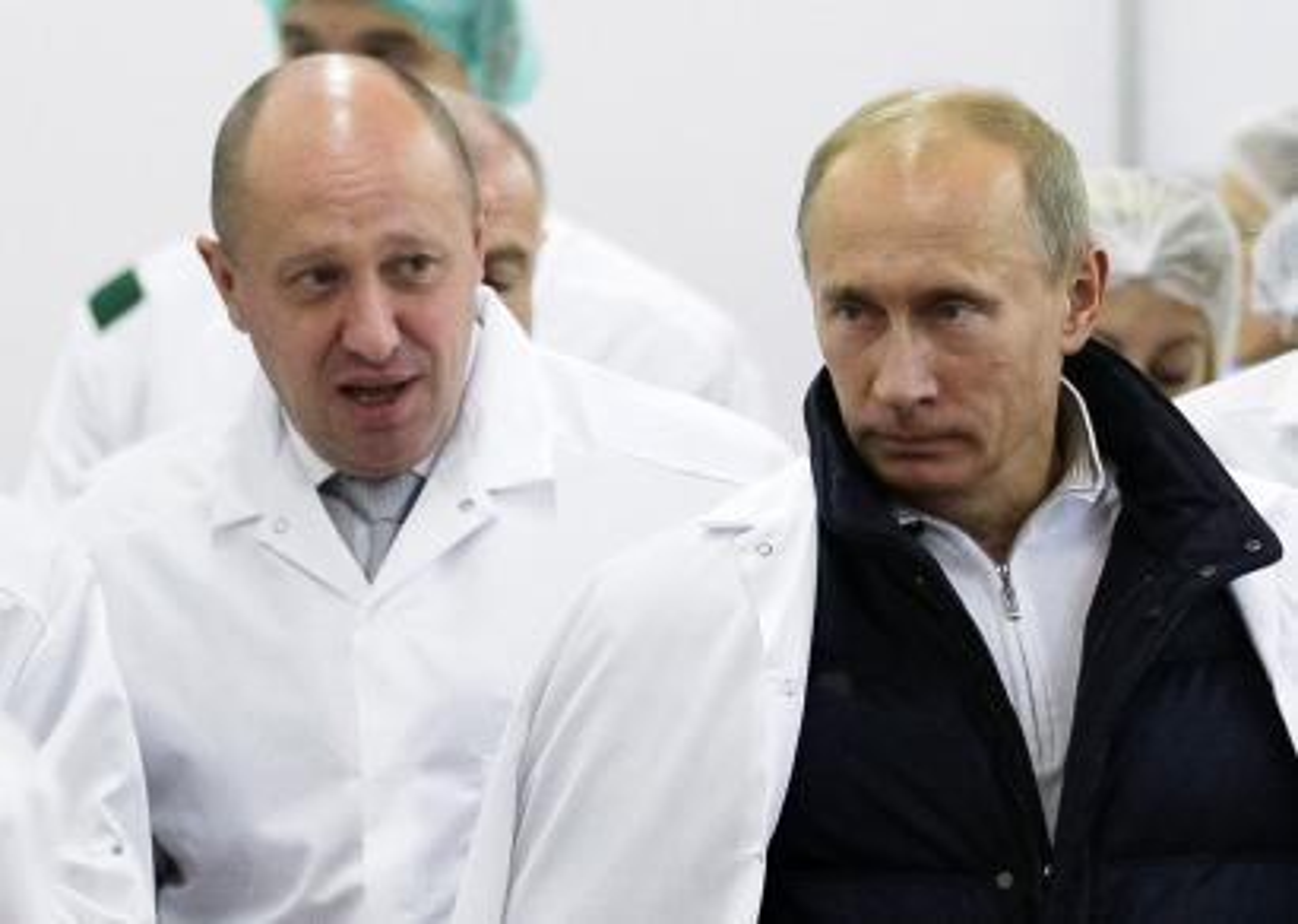 a photo of Putin and Prigozhin