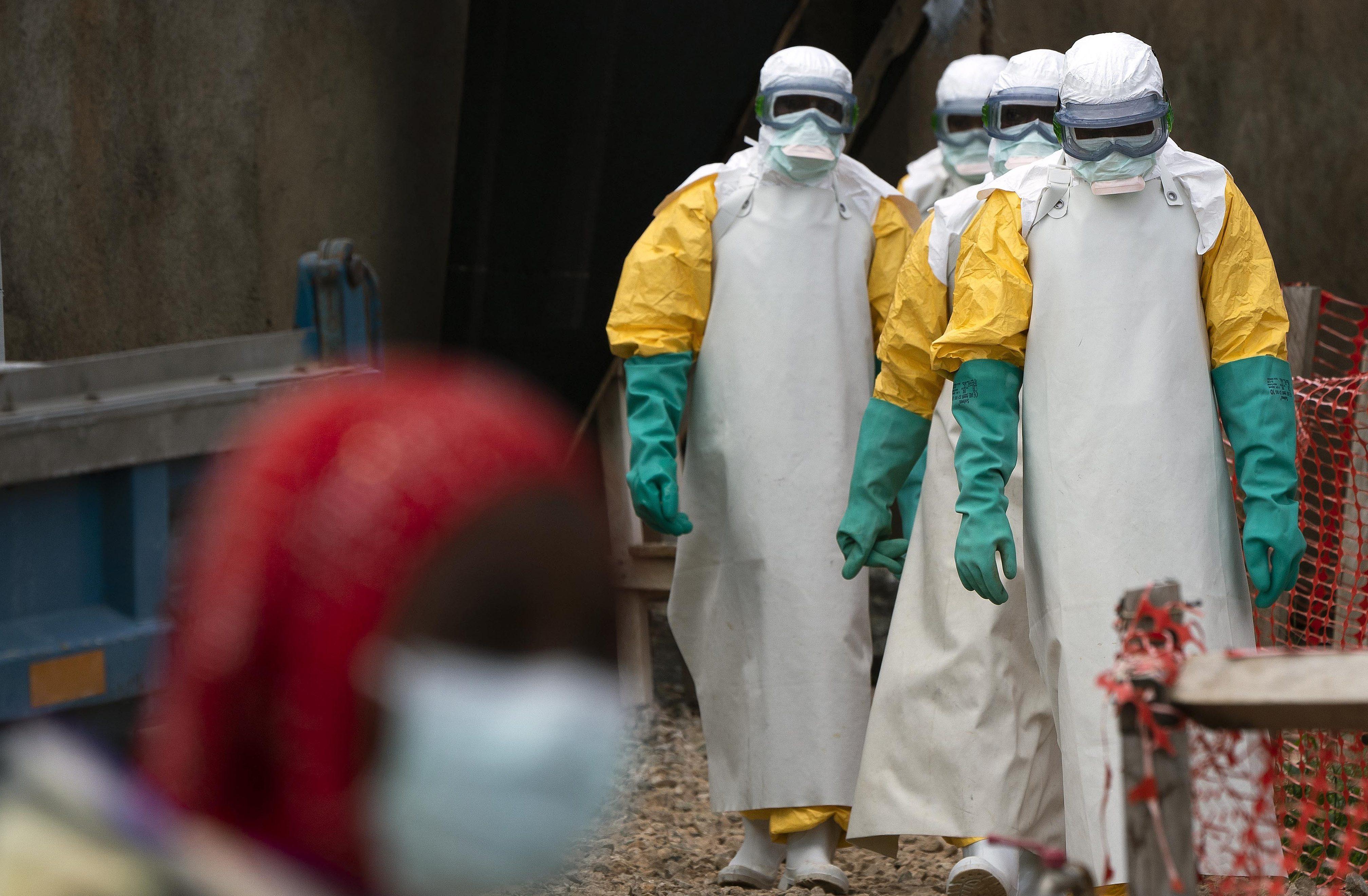 Congo Ebola healthcare workers