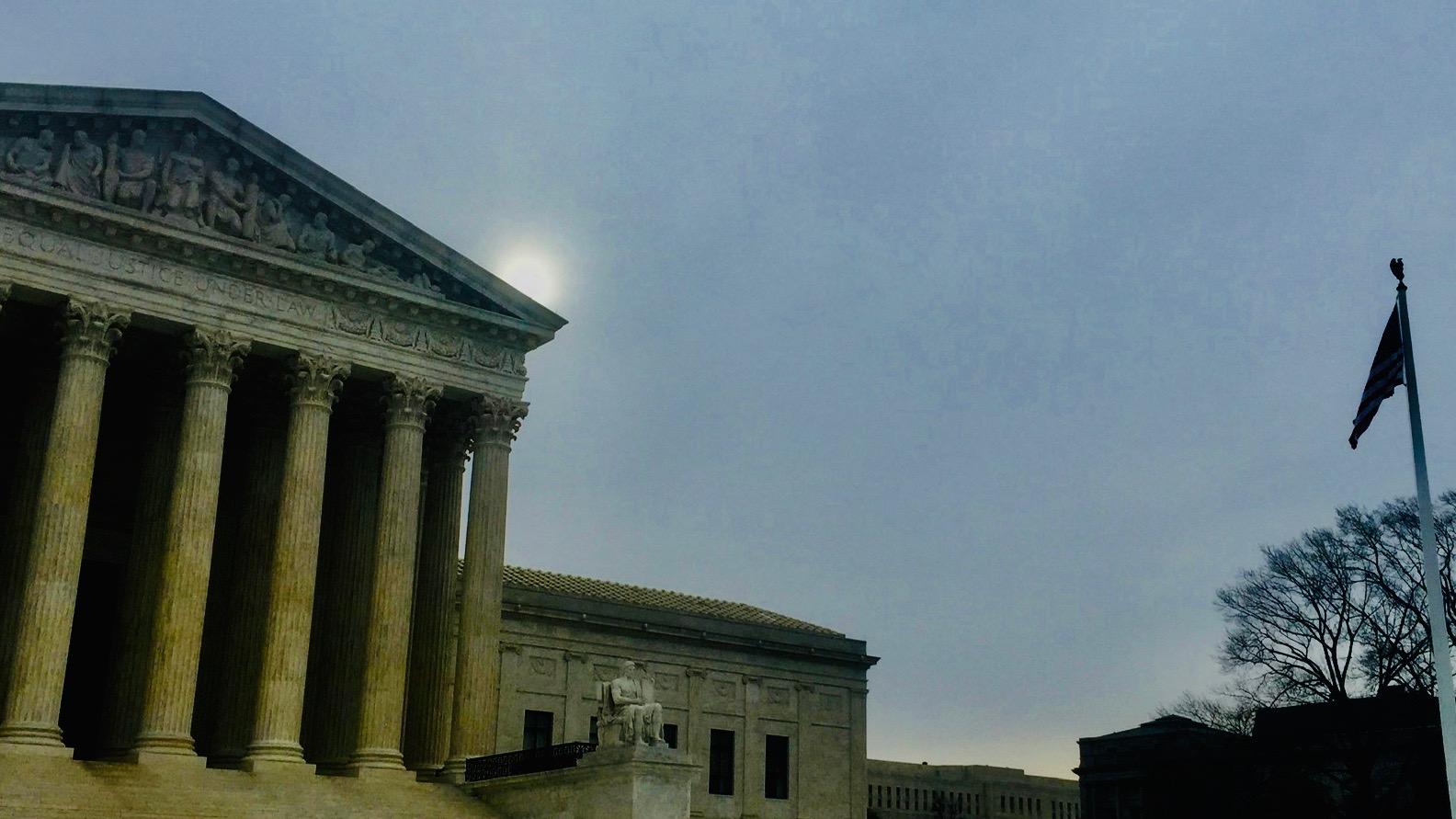 SCOTUS building.