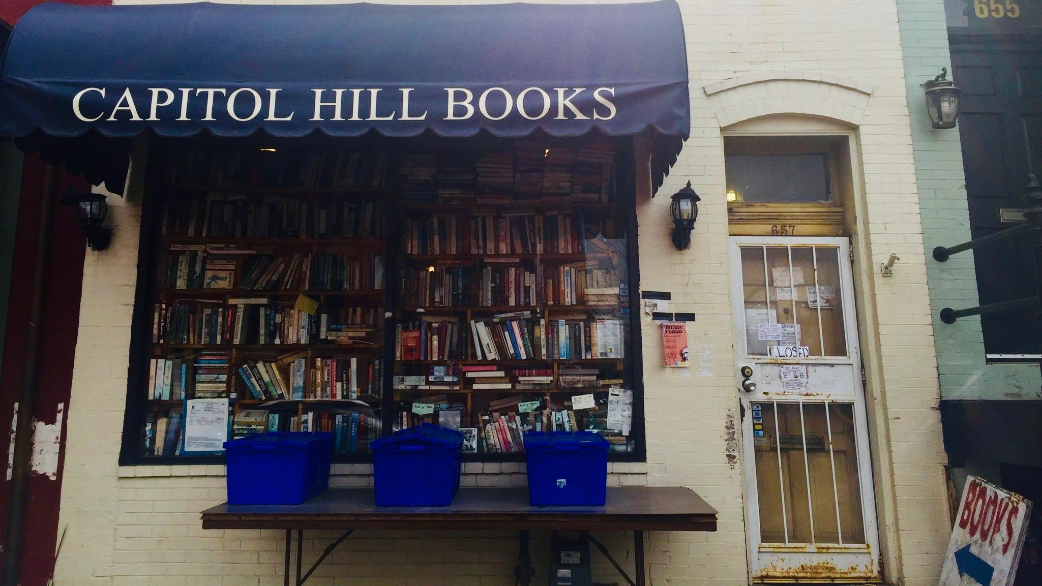 Capitol Hill Books, Washington, DC.