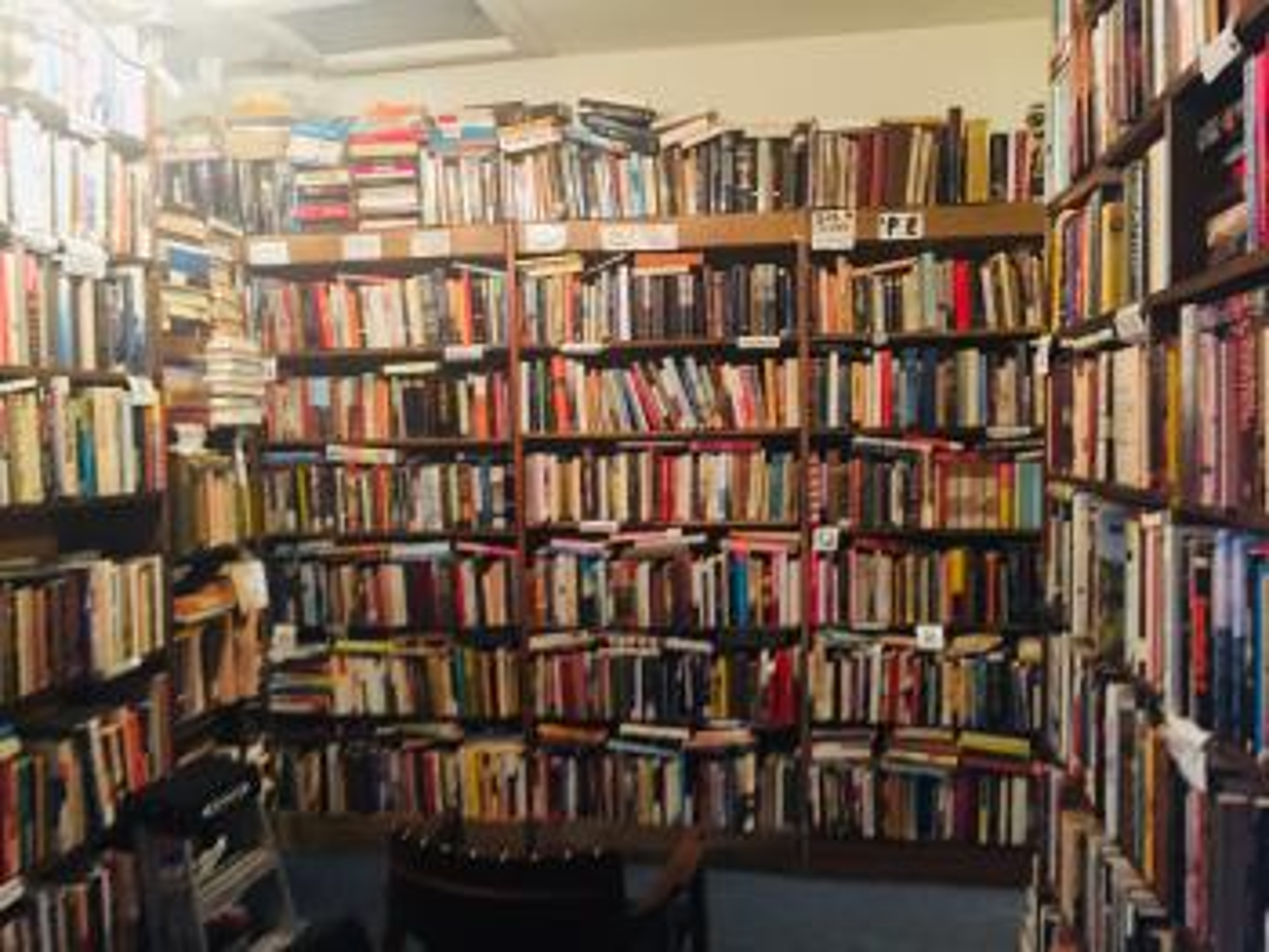 DC bookstore during coronavirus pandemic.