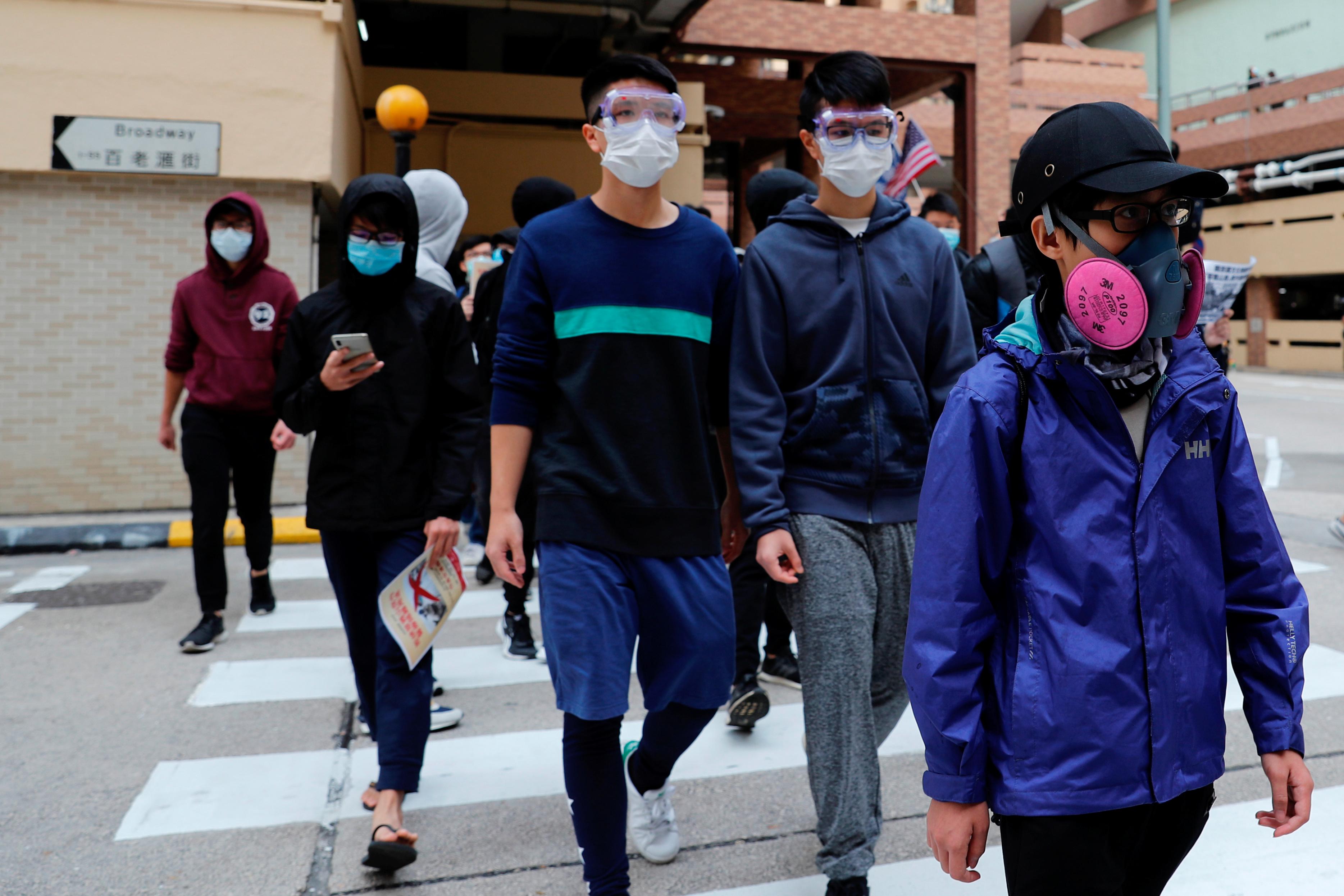 carona virus in hong kong